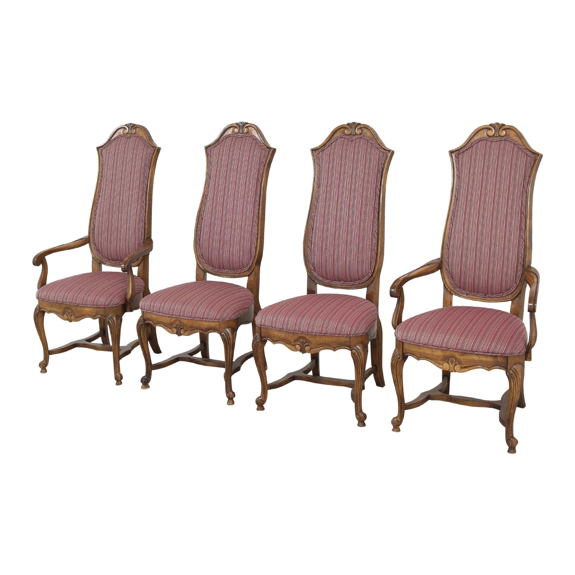 Ethan Allen Ethan Allen High Back Dining Chairs