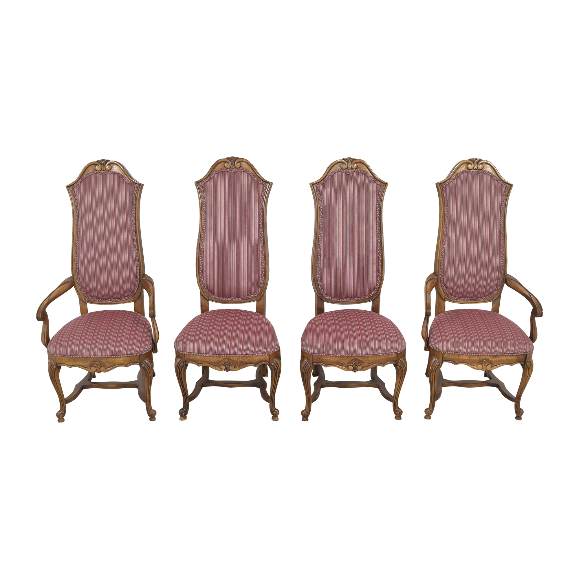 Ethan Allen Ethan Allen High Back Dining Chairs nyc