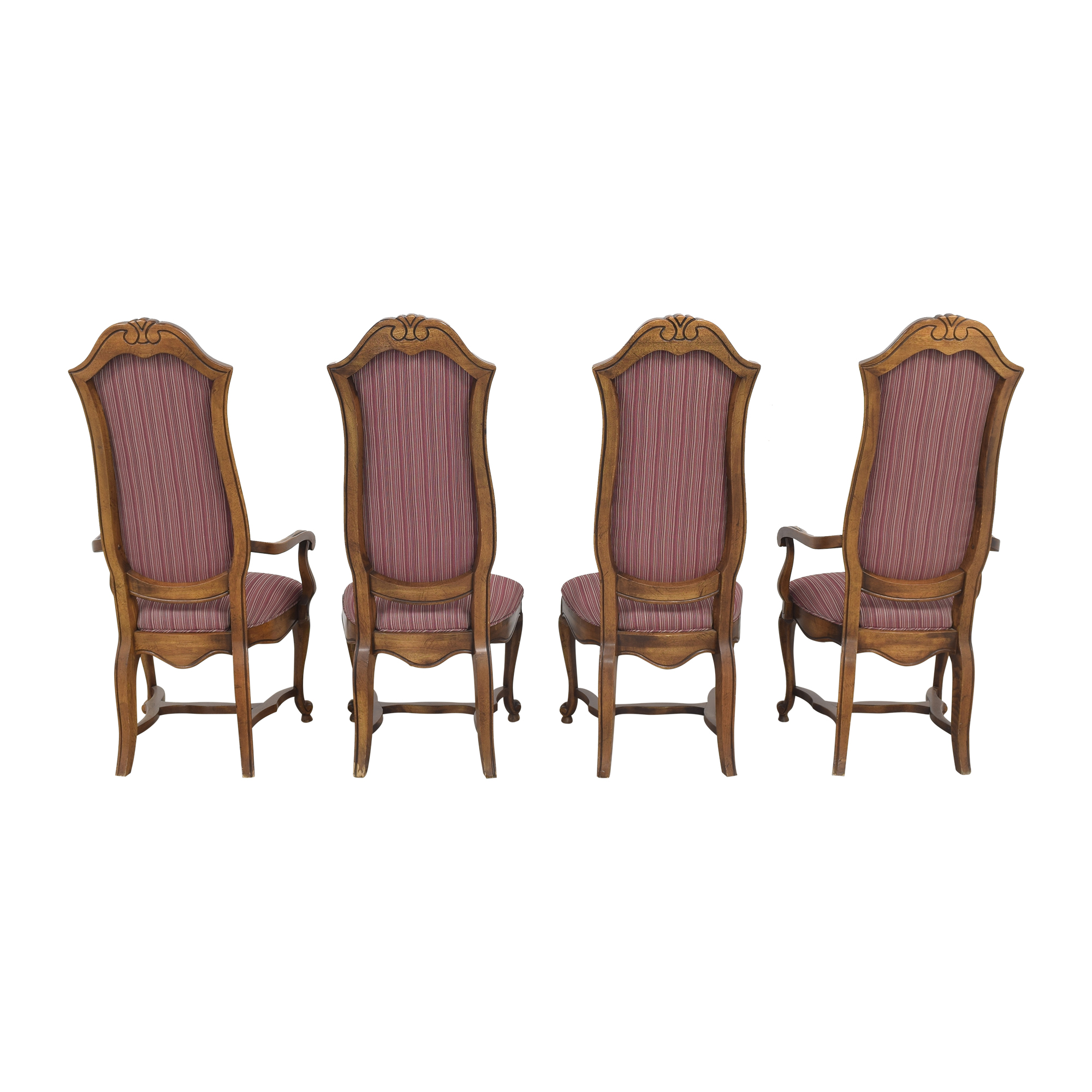 Ethan Allen Ethan Allen High Back Dining Chairs on sale