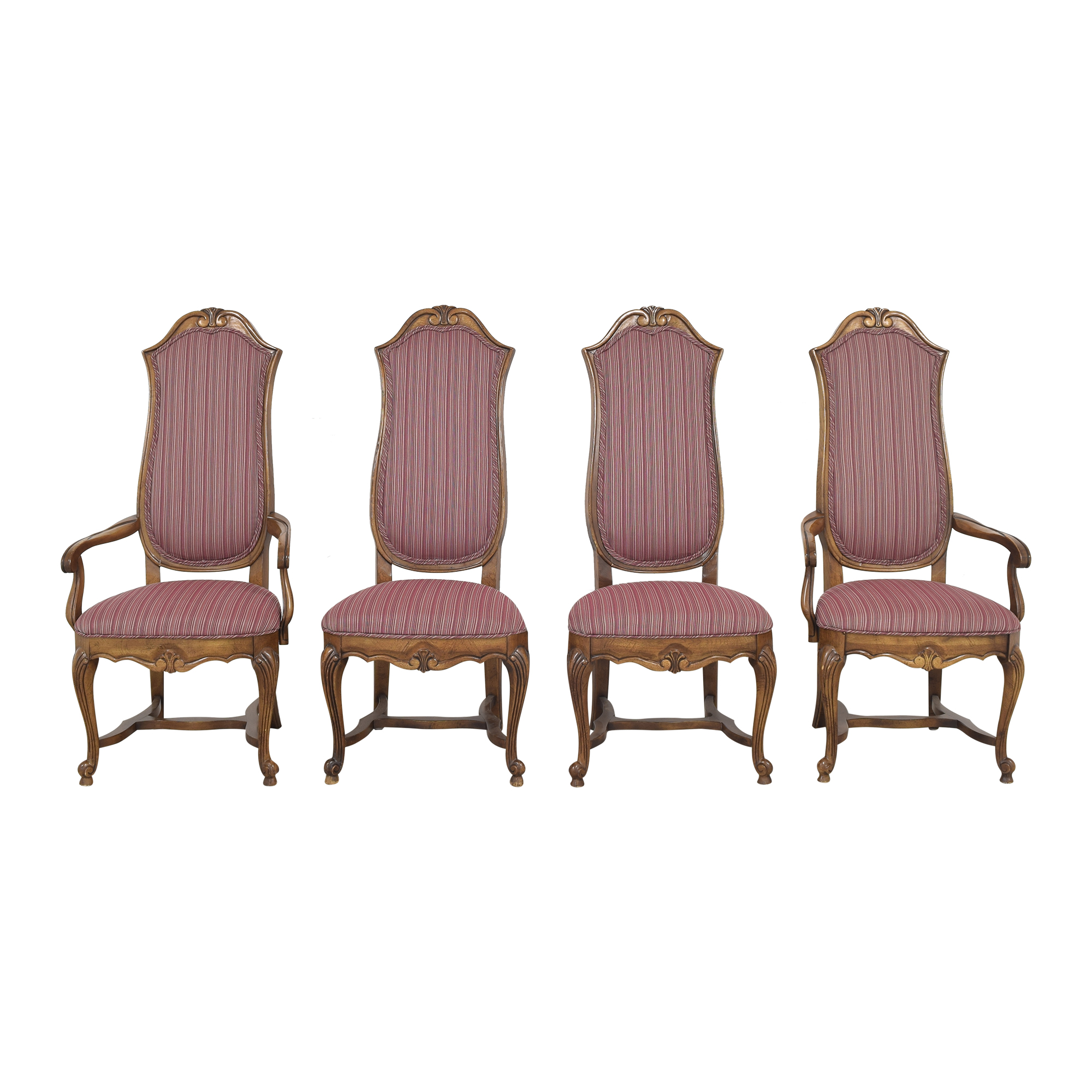 buy Ethan Allen Ethan Allen High Back Dining Chairs online