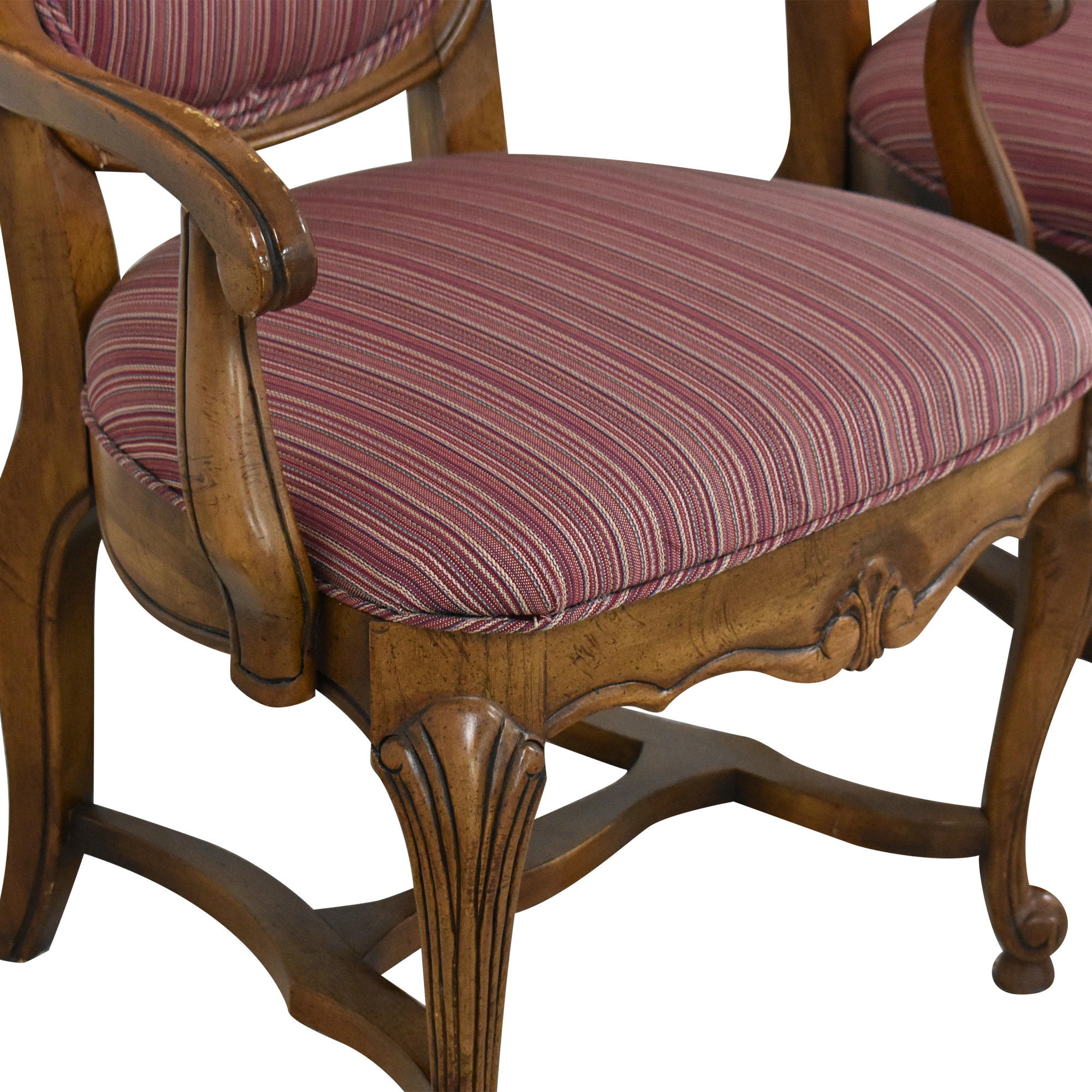 Ethan Allen Ethan Allen High Back Dining Chairs coupon