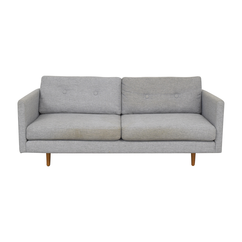 shop Article Anton Modern Two Cushion Sofa Article