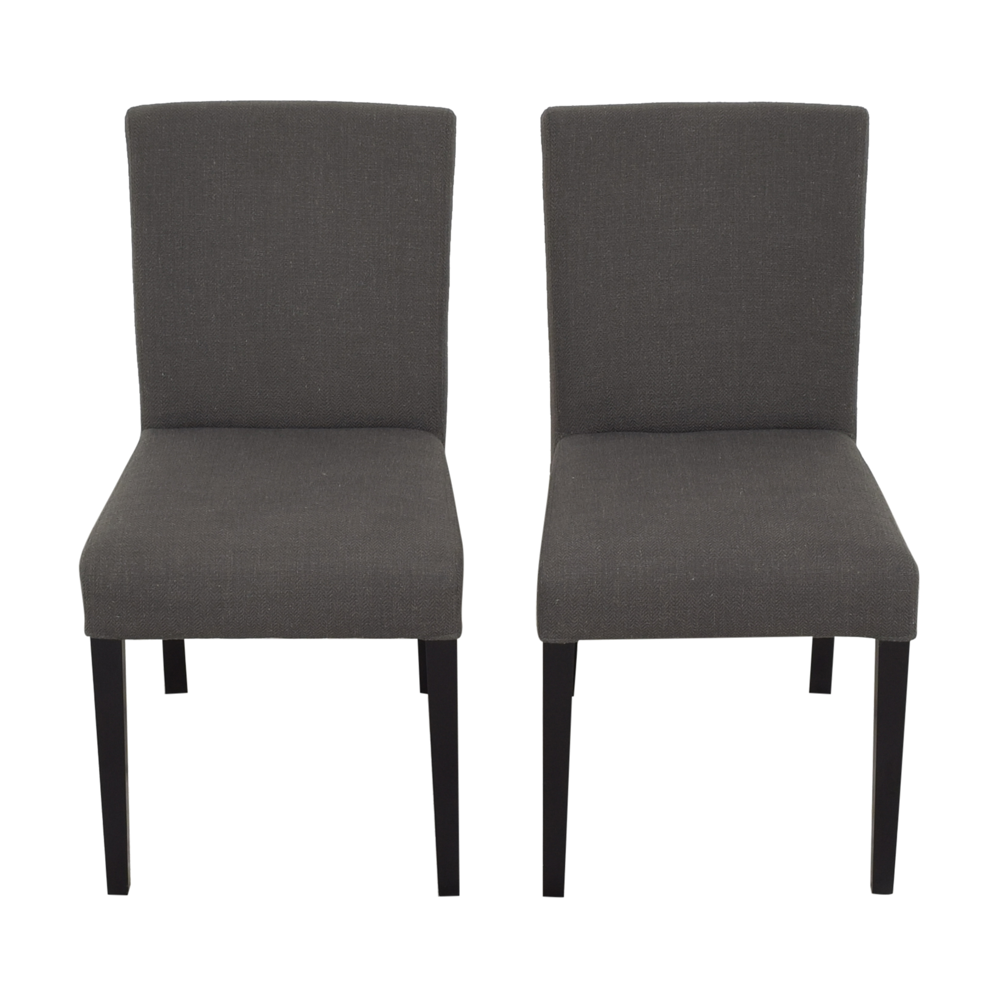 Crate & Barrel Crate & Barrel Lowe Dining Chairs pa