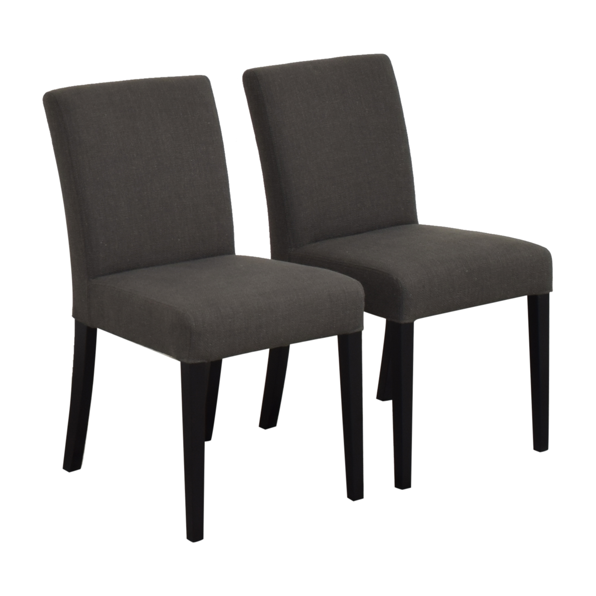 Crate & Barrel Lowe Dining Chairs Crate & Barrel