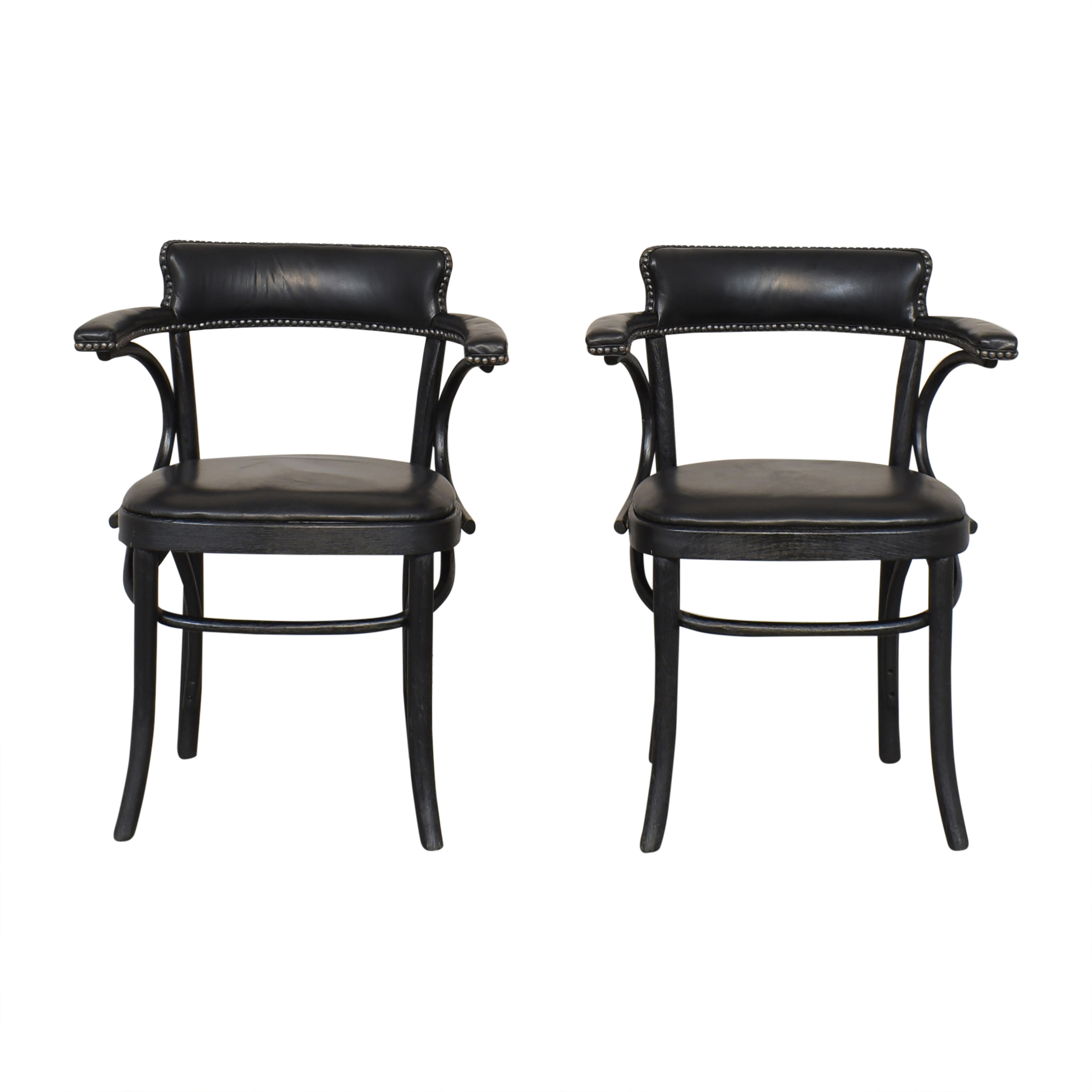 Restoration Hardware Restoration Hardware Vienna Cafe Armchairs used