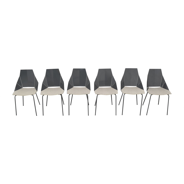 Blu Dot Real Good Chairs with Chair Pads Blu Dot