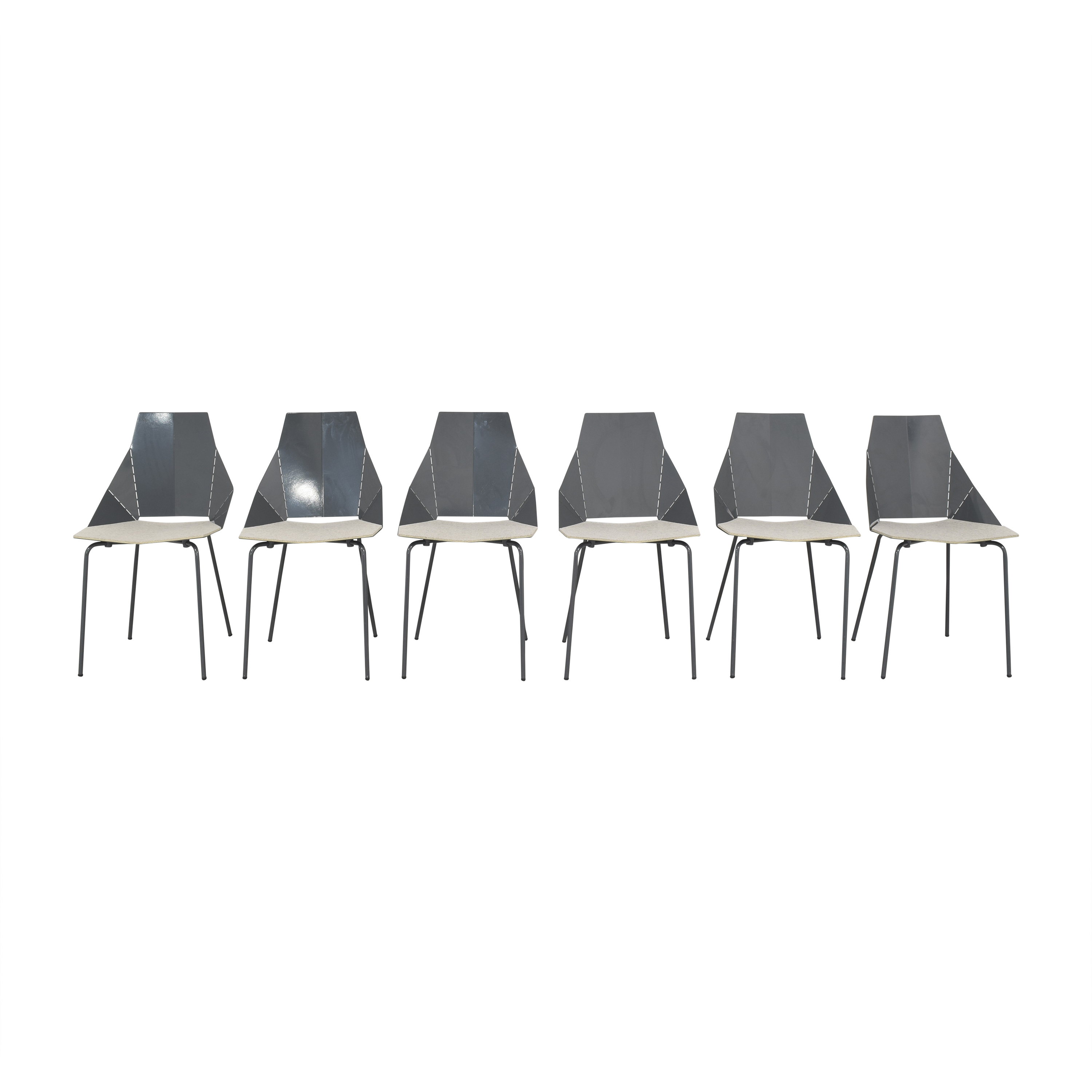 Blu Dot Real Good Chairs with Chair Pads sale