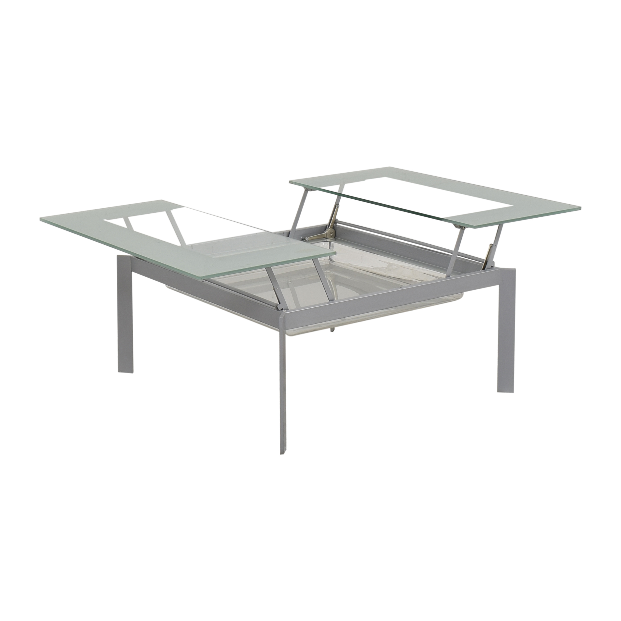 West Elm West Elm Pop Up Storage Coffee Table second hand