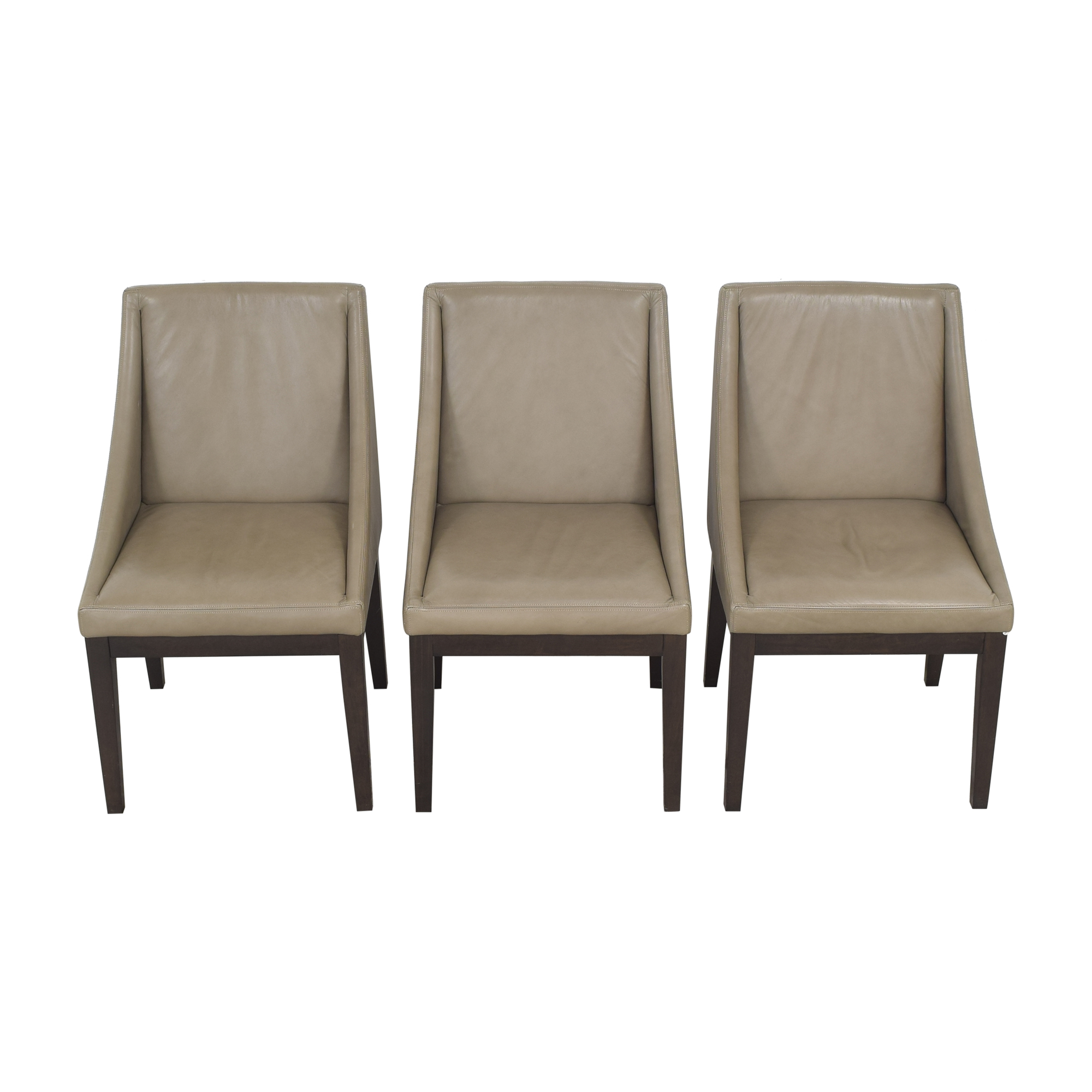 West Elm West Elm Curved Dining Chairs dimensions