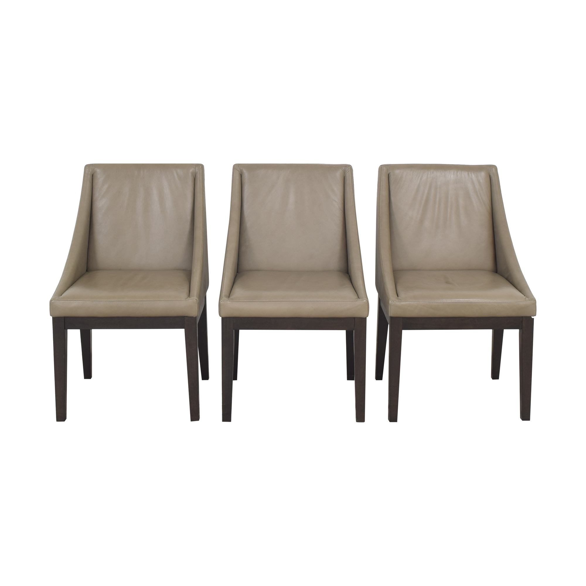 West Elm Curved Dining Chairs / Dining Chairs