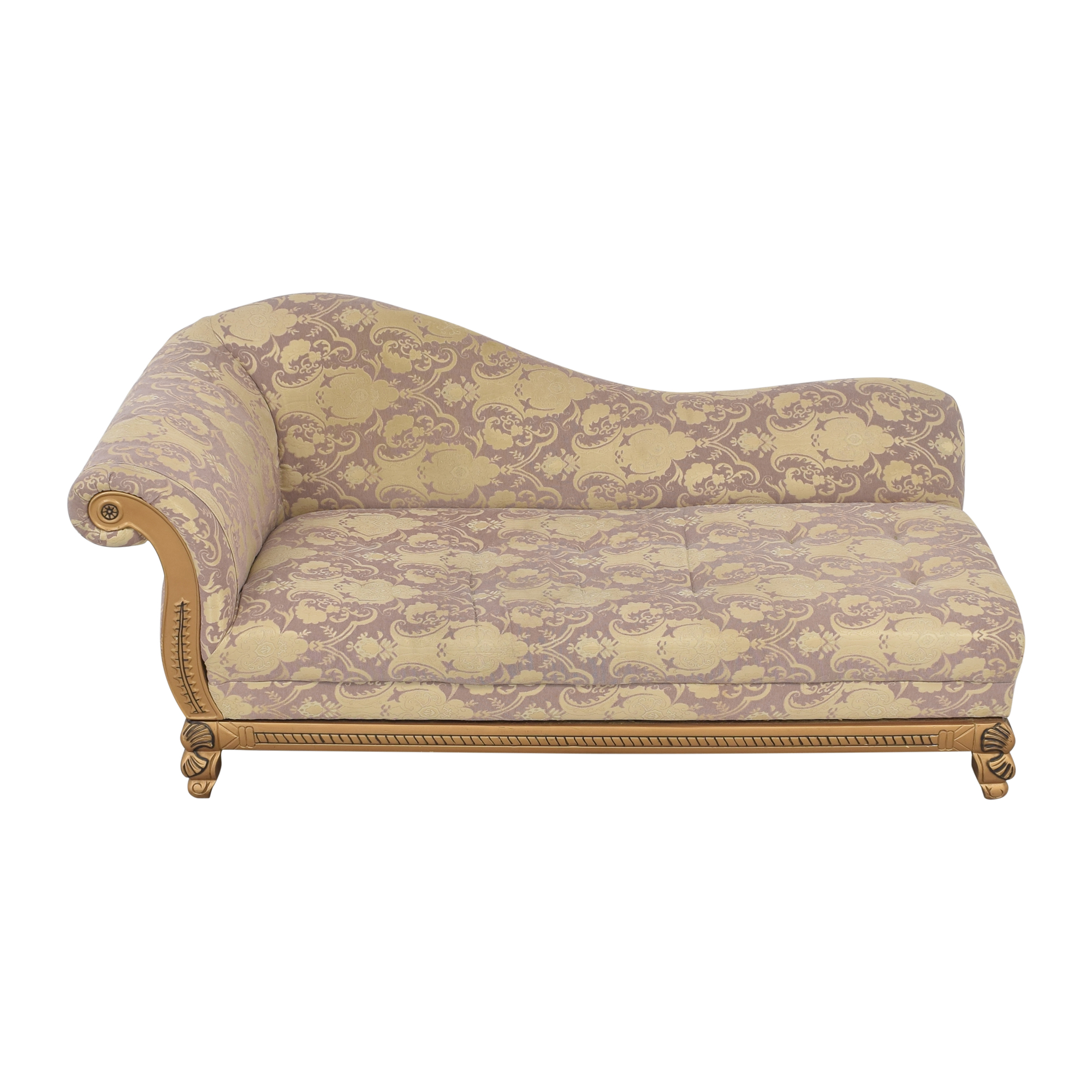 Upholstered Chaise Lounge sale