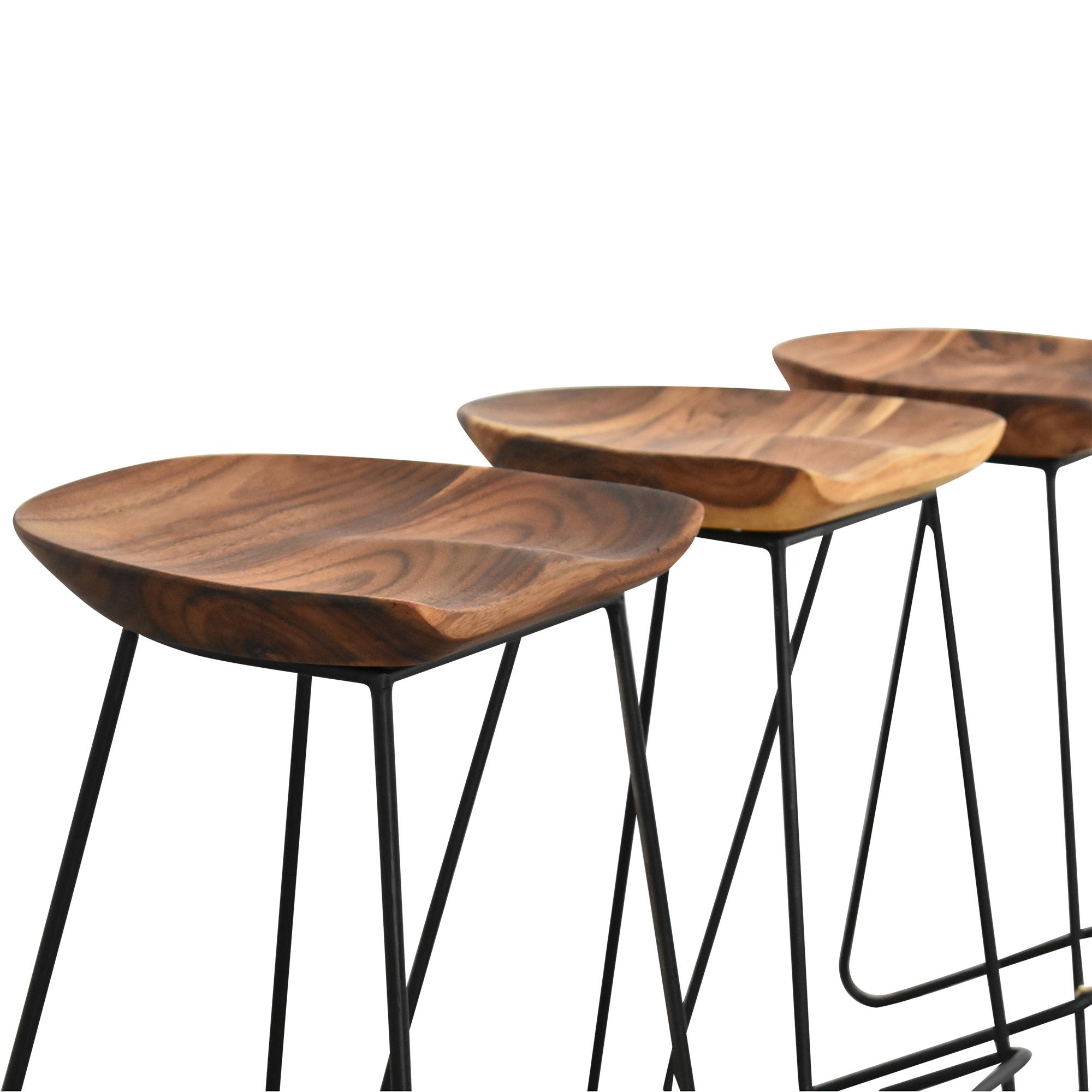 shop Organic Modernism Chicago Counter Stools Organic Modernism Chairs