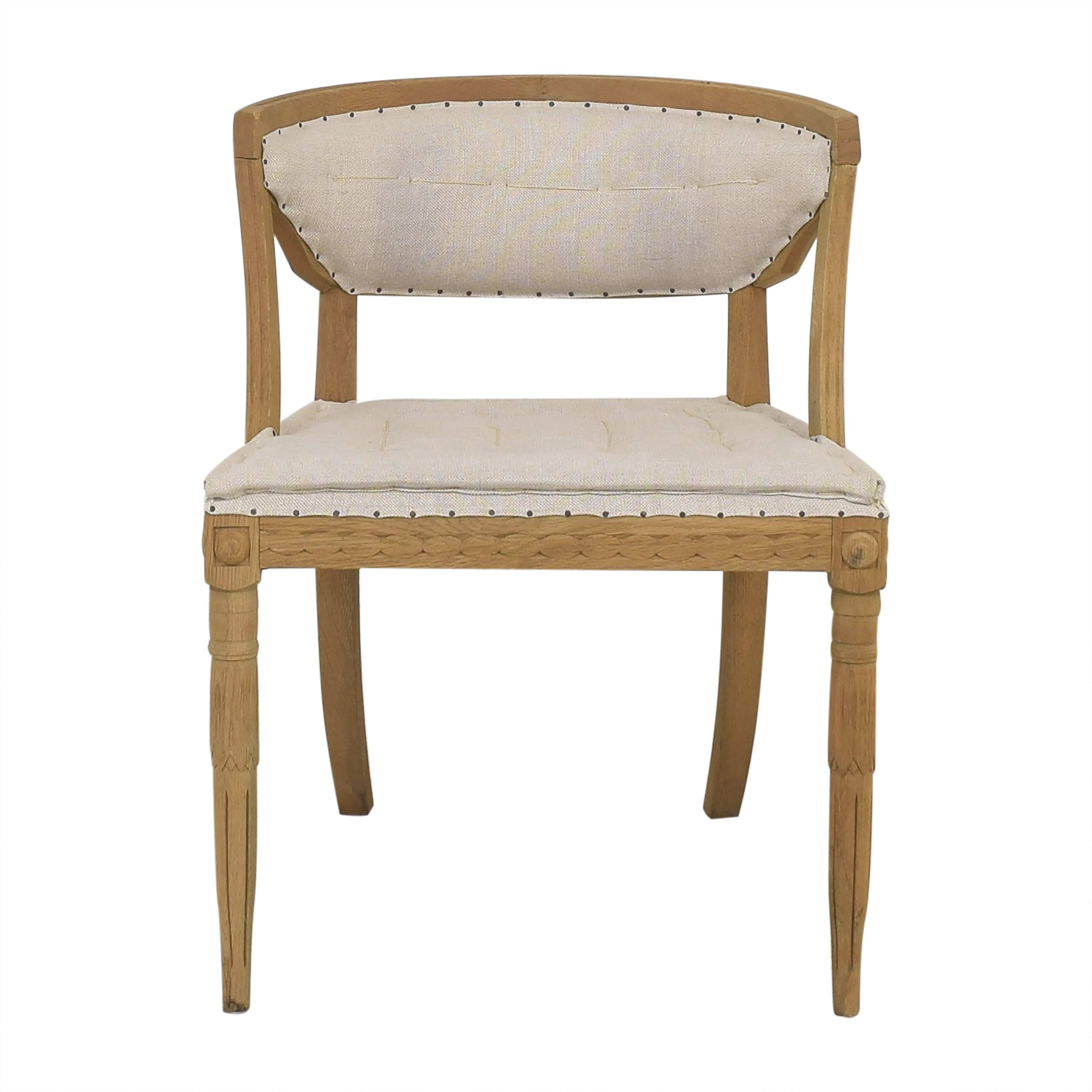 Restoration Hardware Restoration Hardware Upholstered Dining Chair dimensions