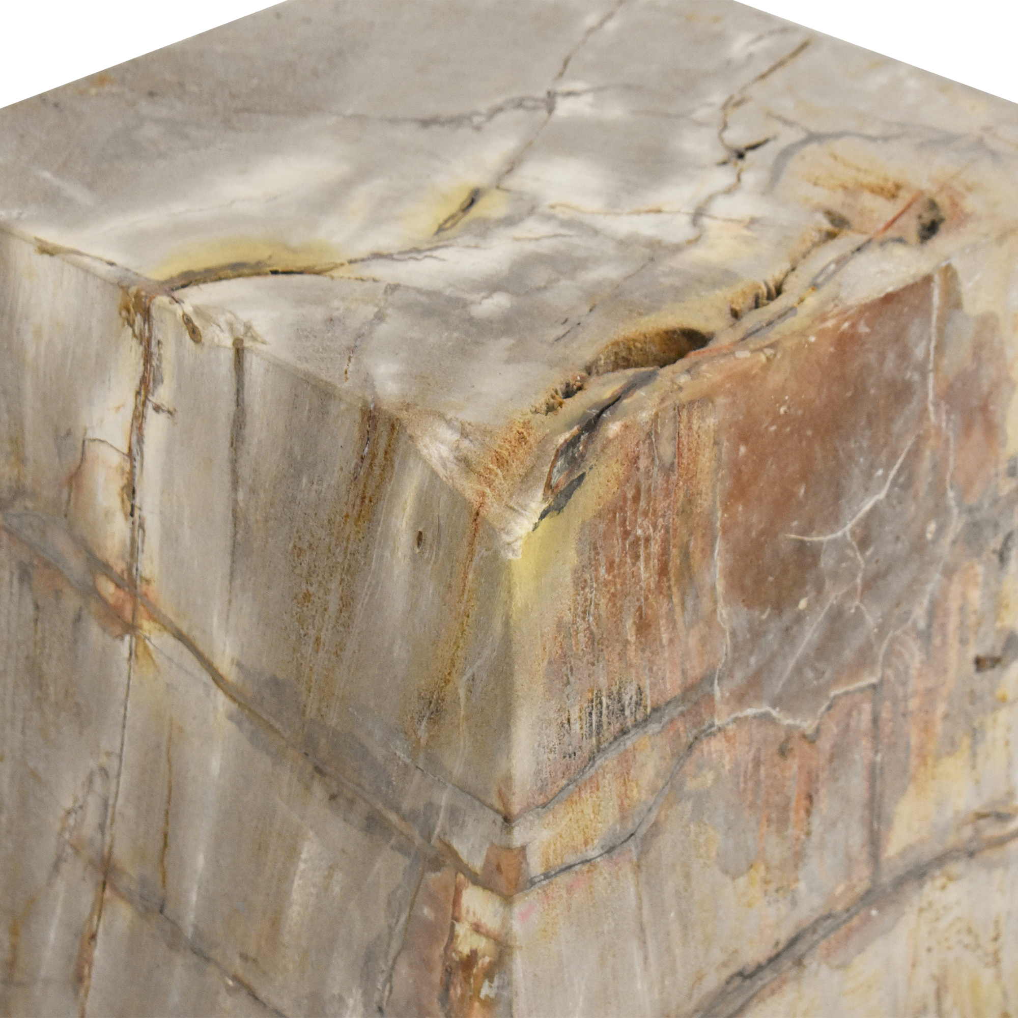 Restoration Hardware Restoration Hardware Solid Block Side Table pa