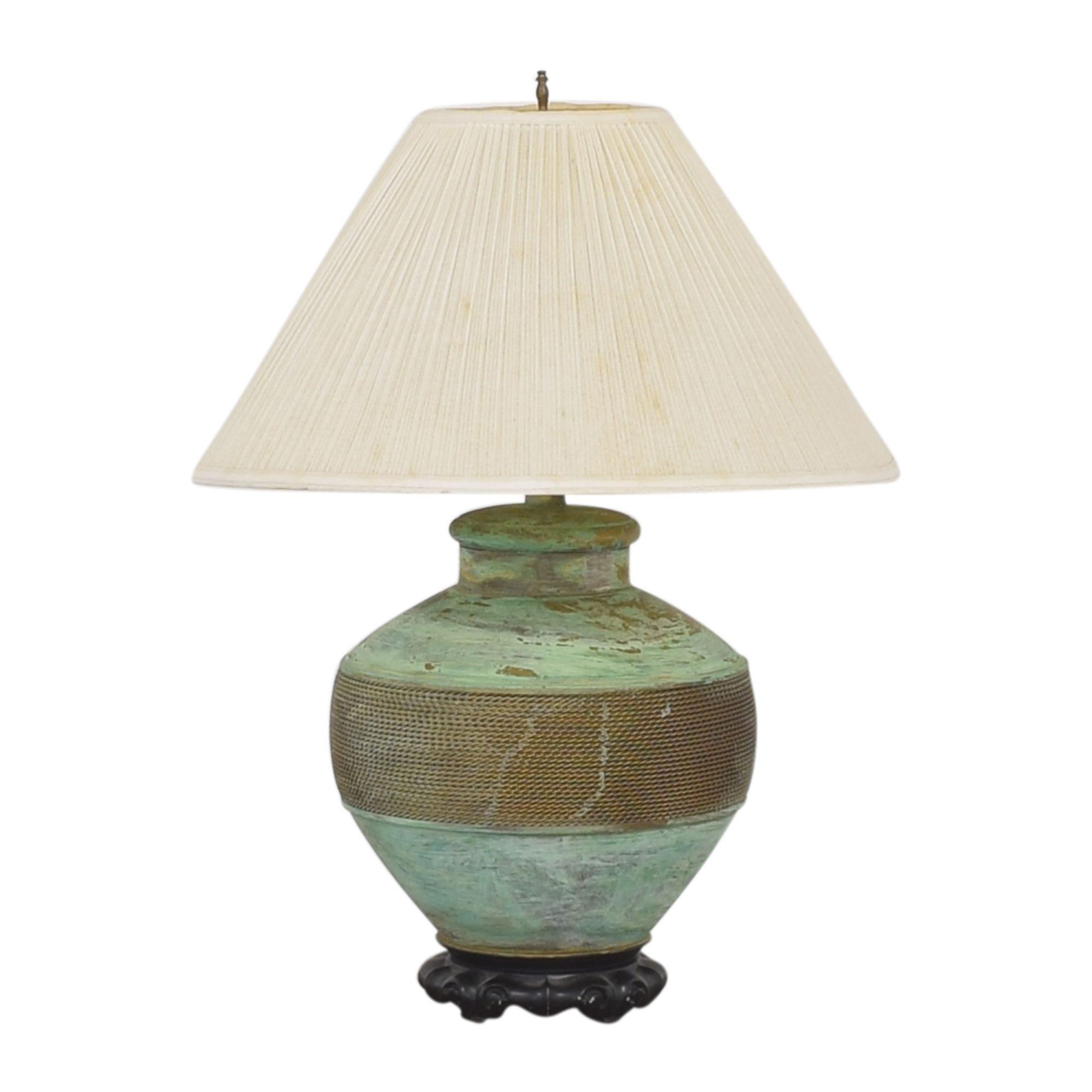 buy Vintage Green Table Lamp