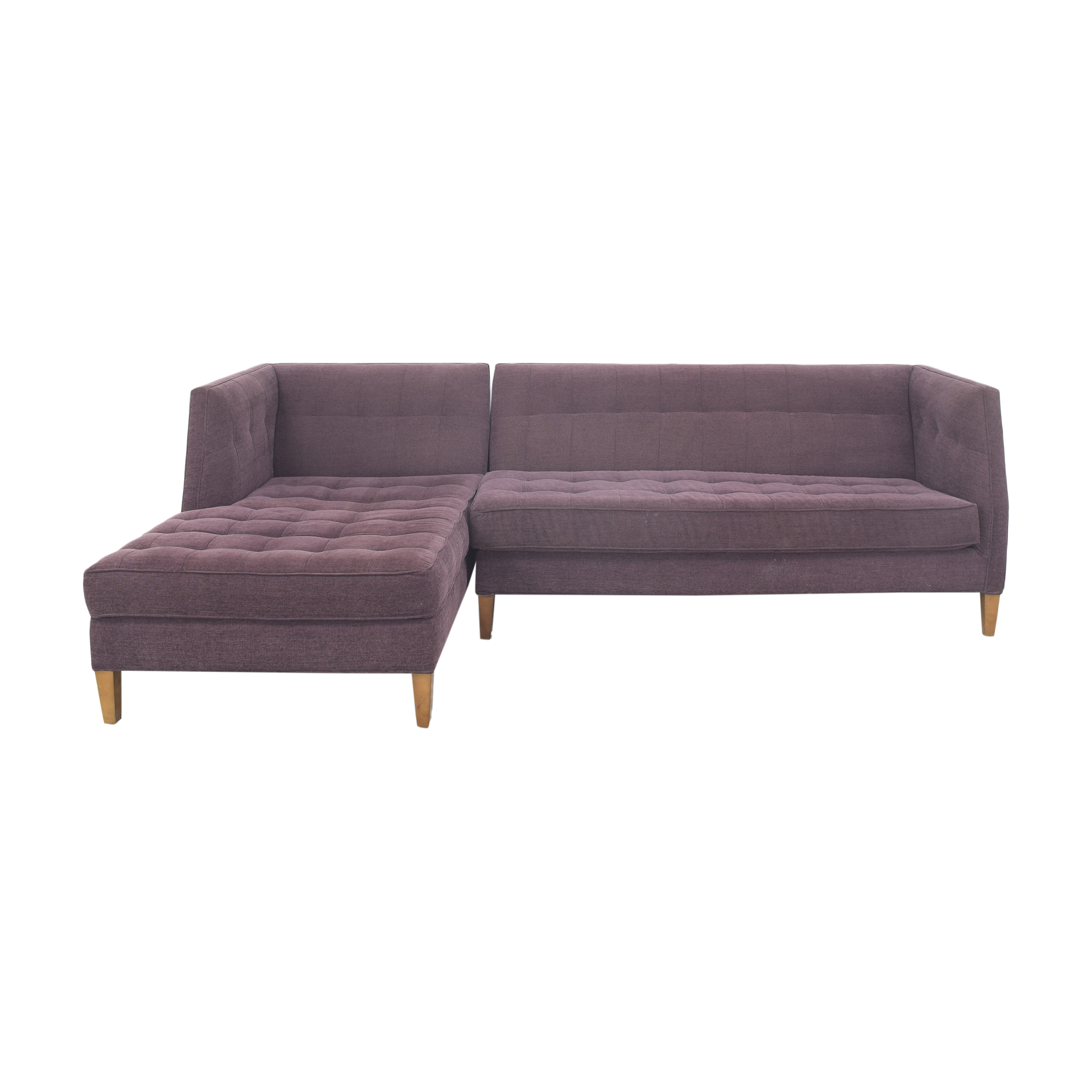 shop A & G Merch Sectional Sofa with Chaise A & G Merch