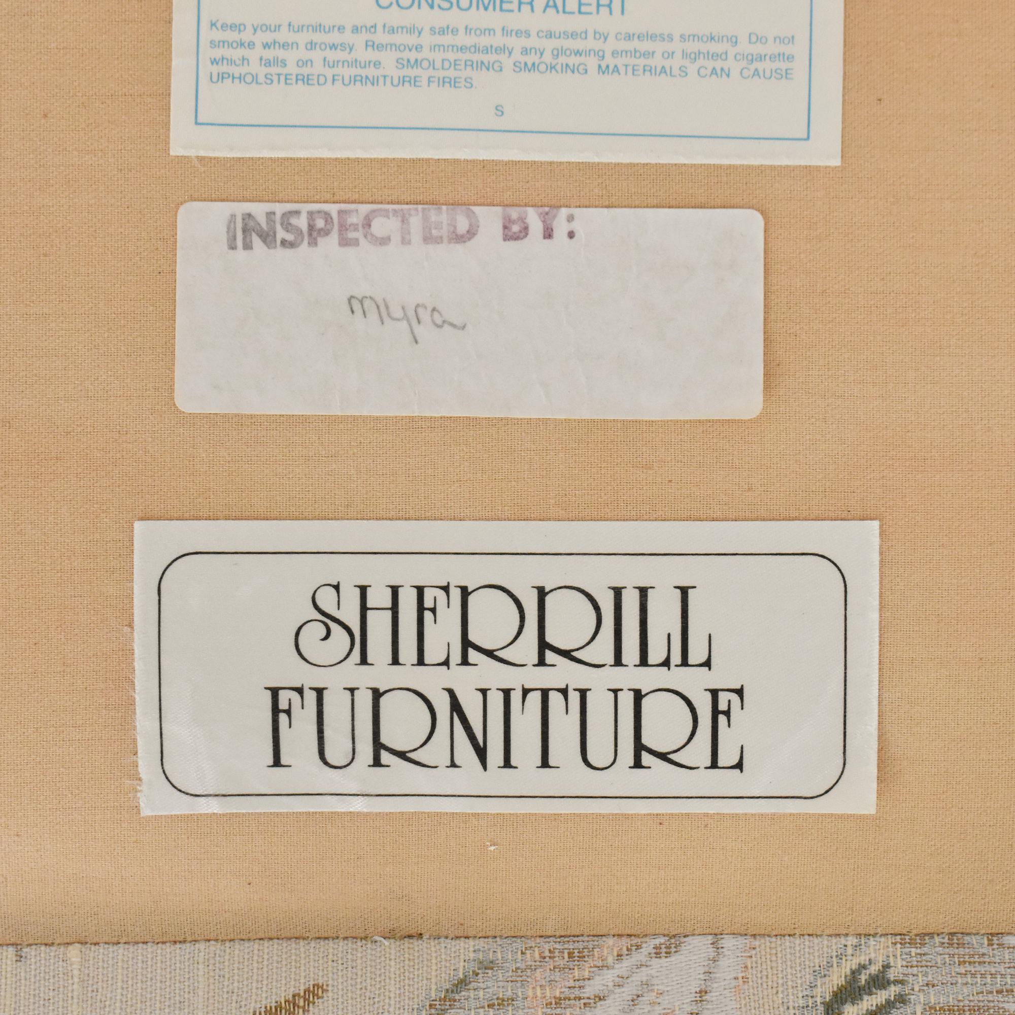 Sherrill Furniture Sherrill Furniture Camelback Sofa ct