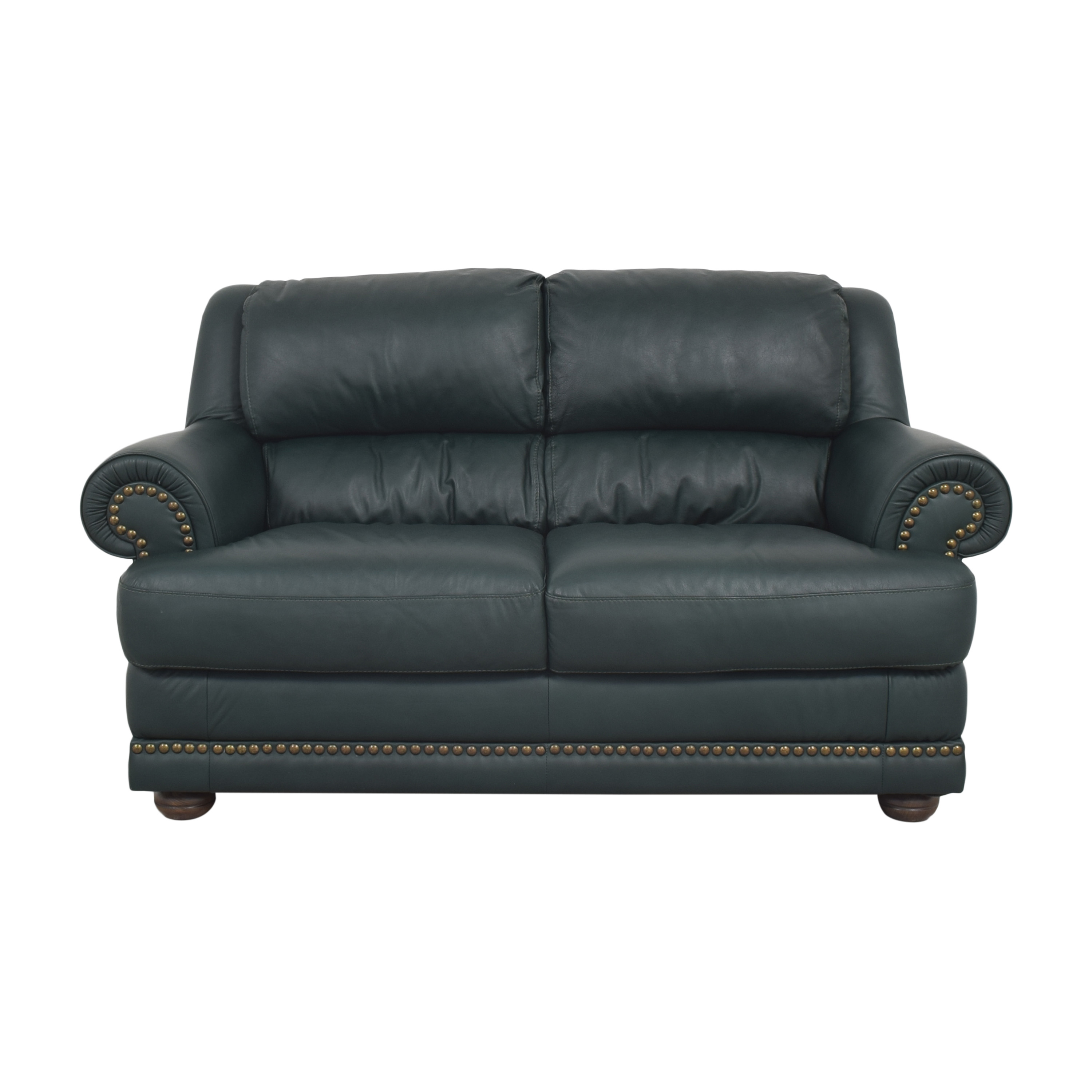 Natuzzi Natuzzi Roll Arm Loveseat for sale