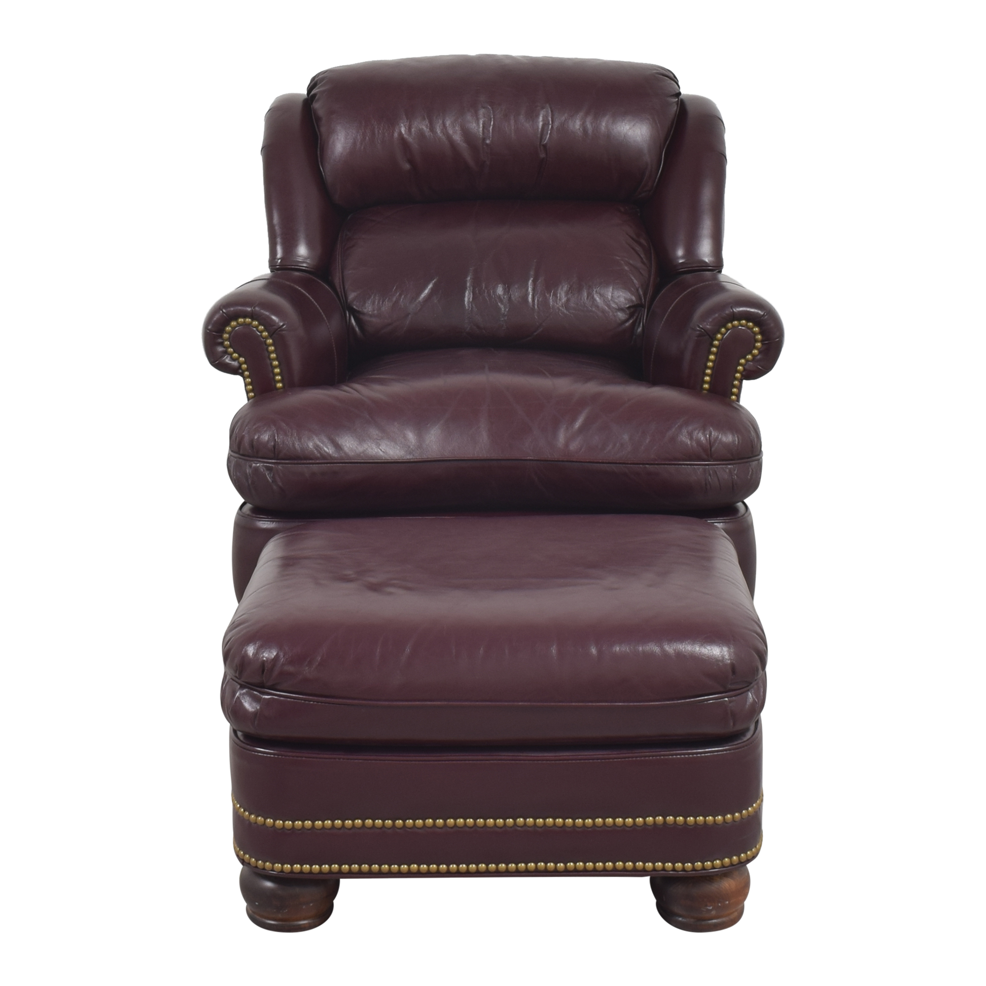 buy Hancock and Moore Hancock and Moore Austin Recliner Chair with Ottoman online