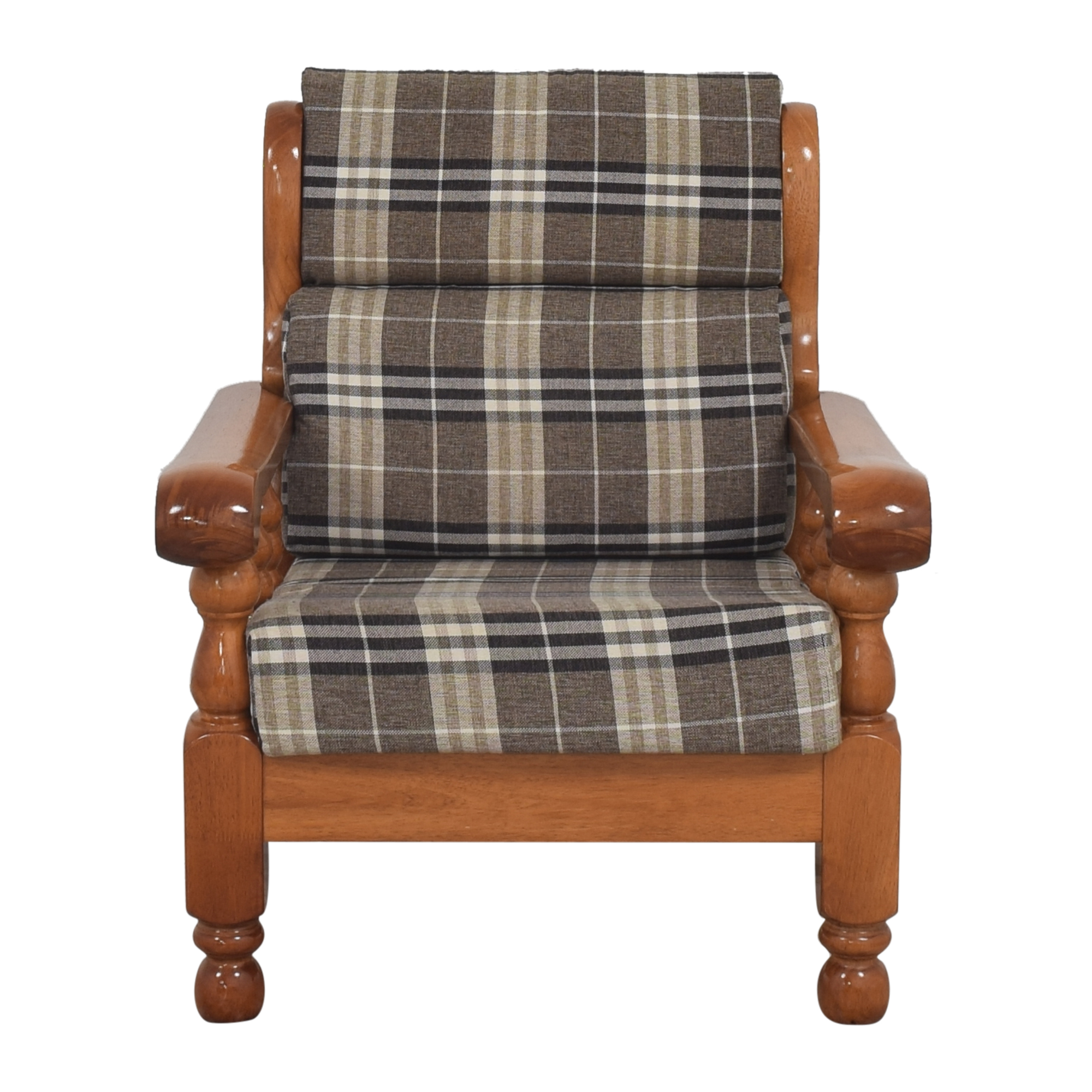 buy Custom Cushioned Accent Chair  Chairs
