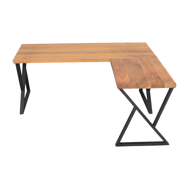 shop Custom L Shaped Desk  Tables