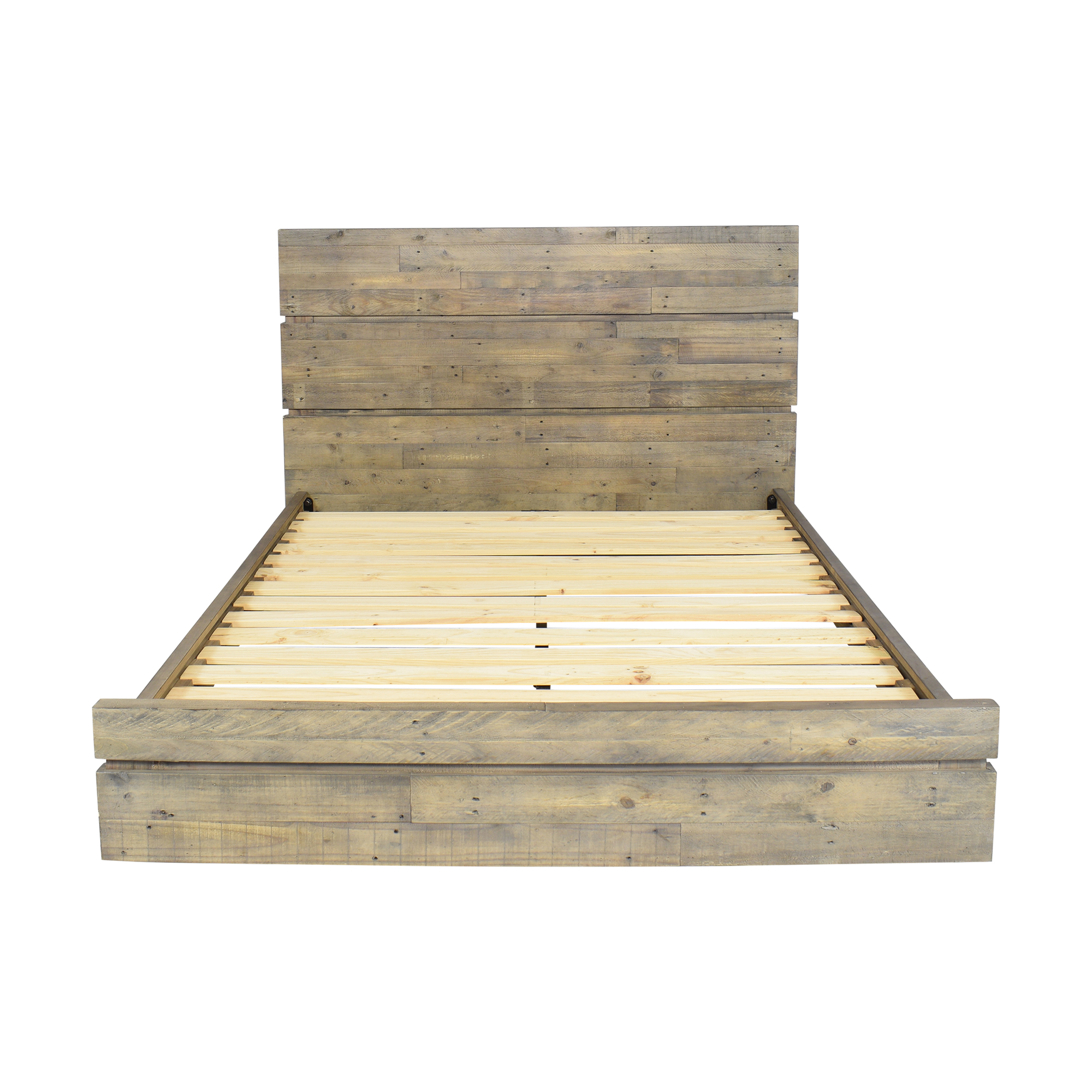 West Elm West Elm Emmerson Modern Reclaimed Queen Bed dimensions