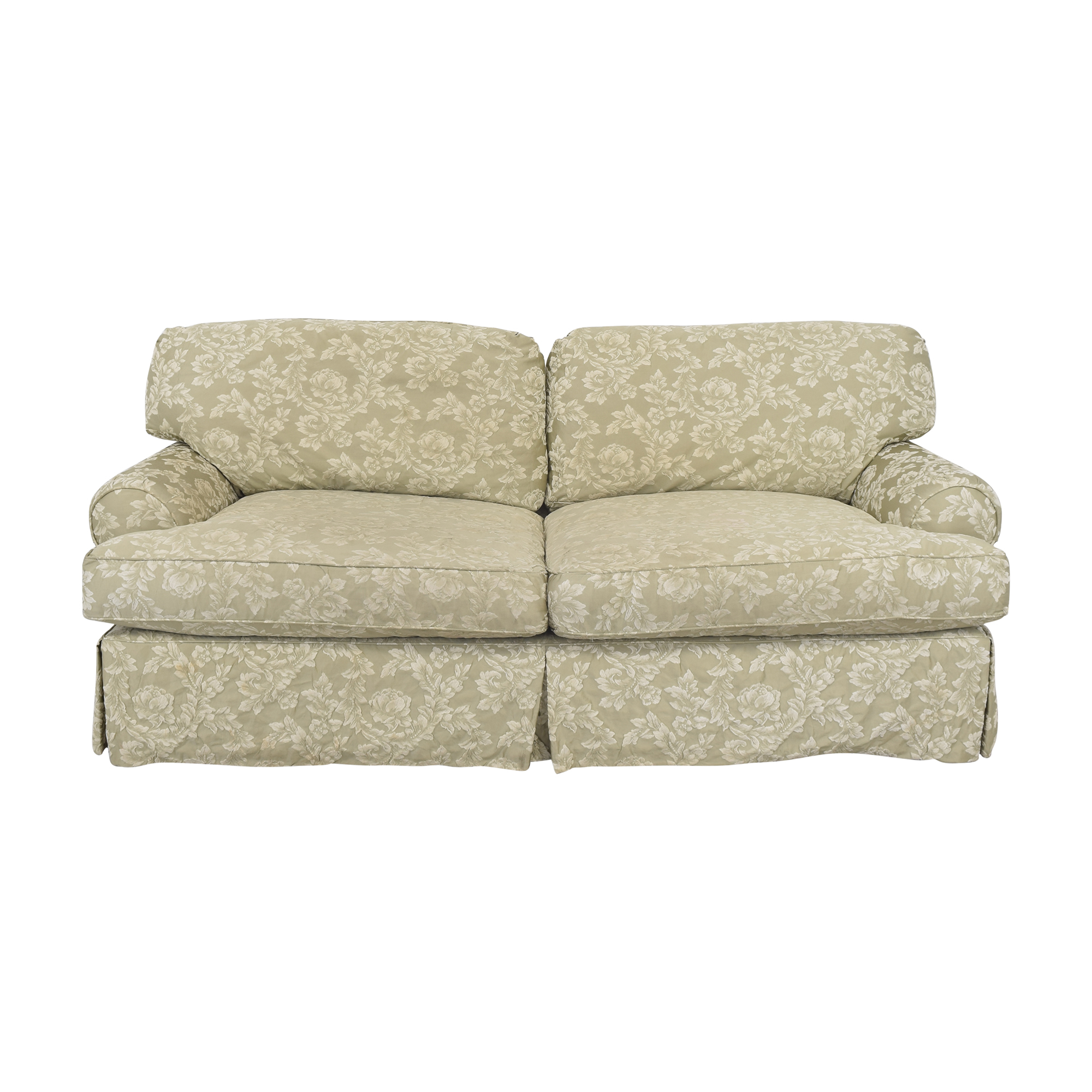 Domain Domain Skirted Two Cushion Sofa nyc
