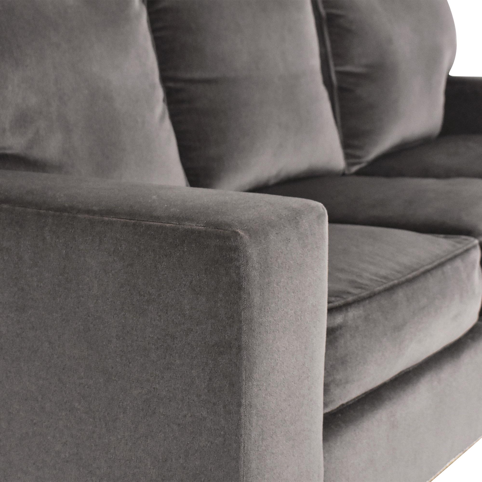 Custom Three Cushion Sofa ct