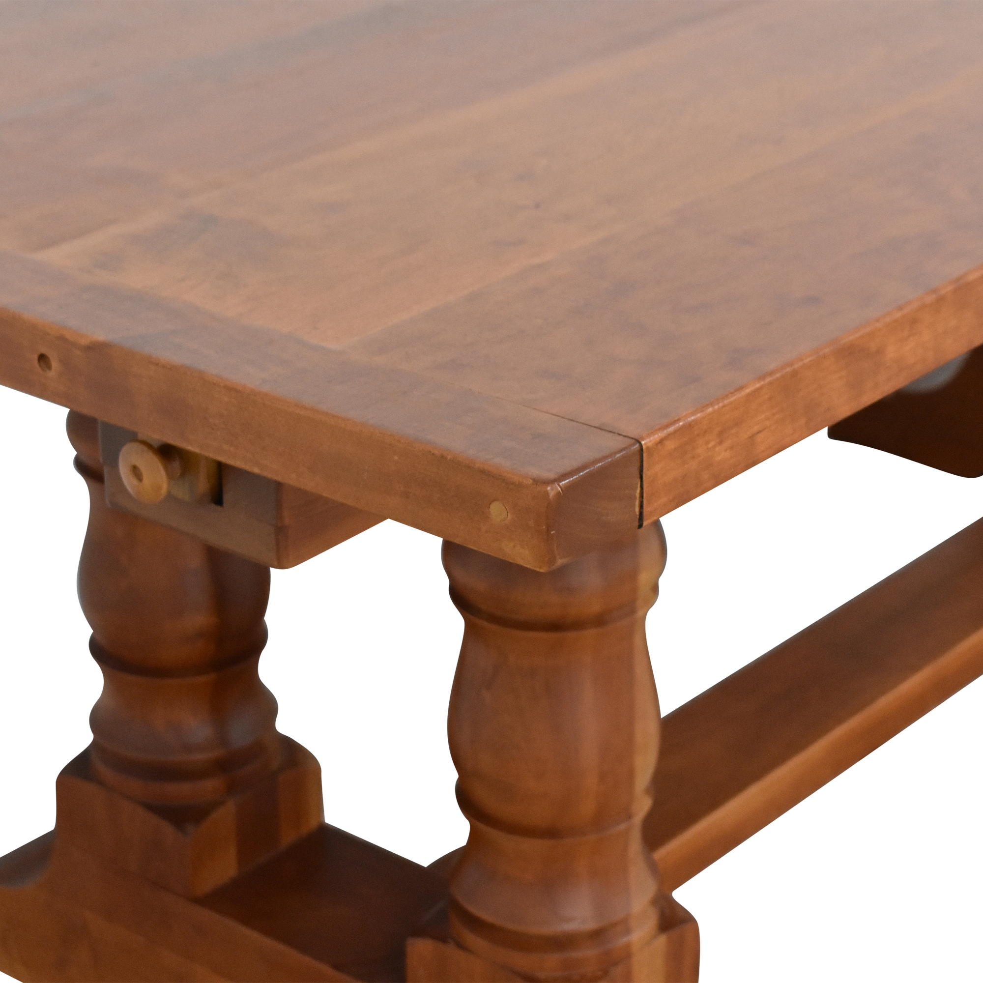 shop Country Willow Silverlake Extendable Dining Table Country Willow