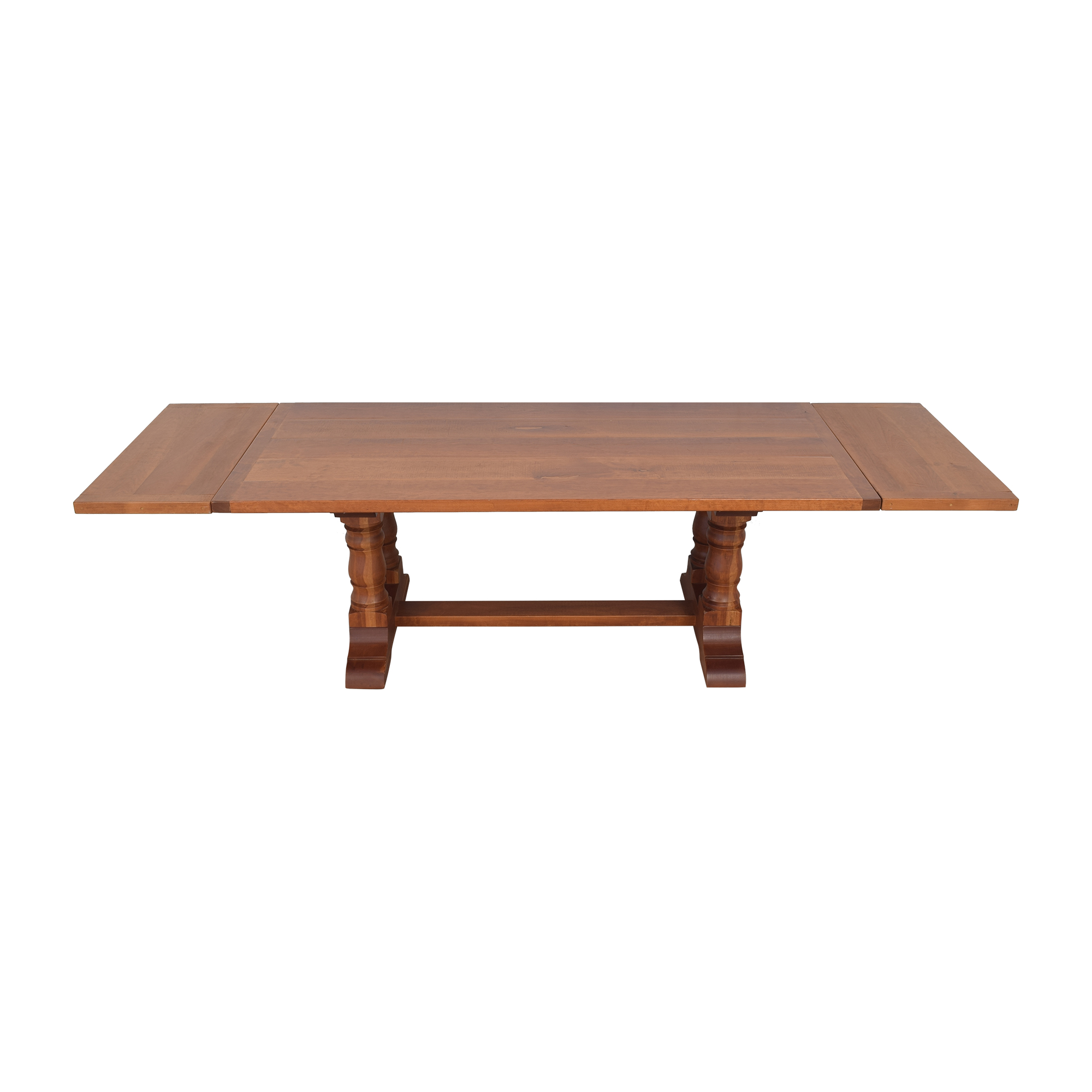 Country Willow Country Willow Silverlake Extendable Dining Table ma