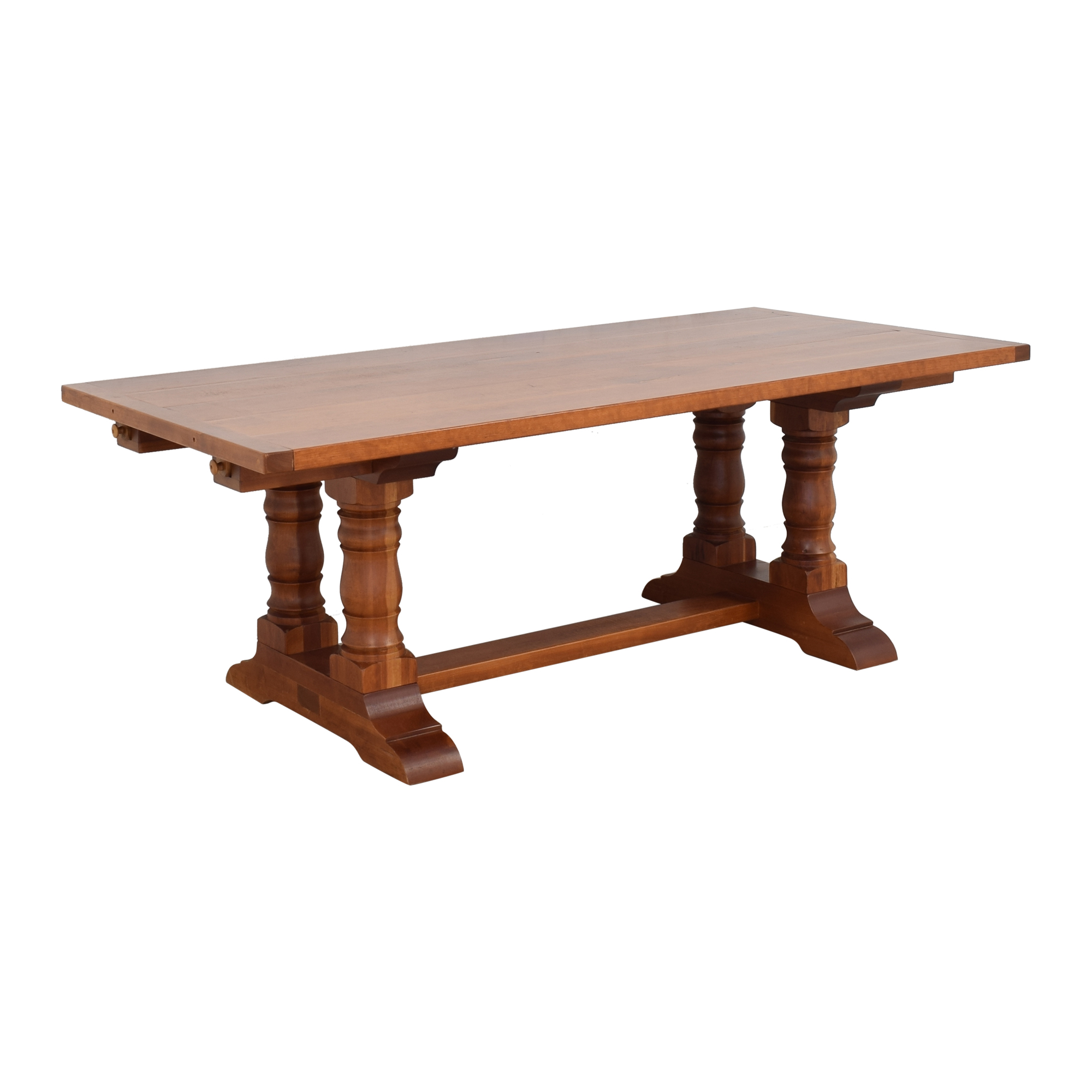 Country Willow Silverlake Extendable Dining Table / Dinner Tables