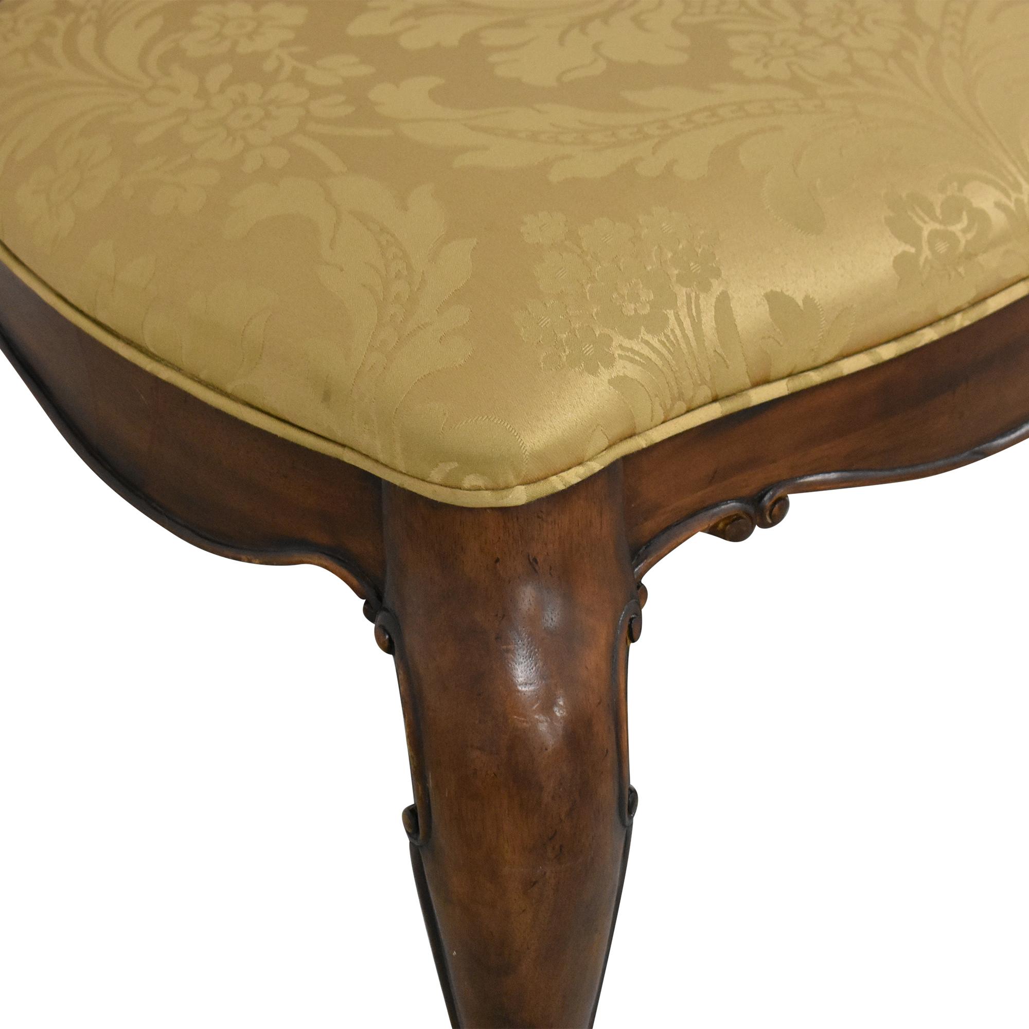 Thomasville Thomasville Ernest Hemingway Granada Dining Chairs brown & gold