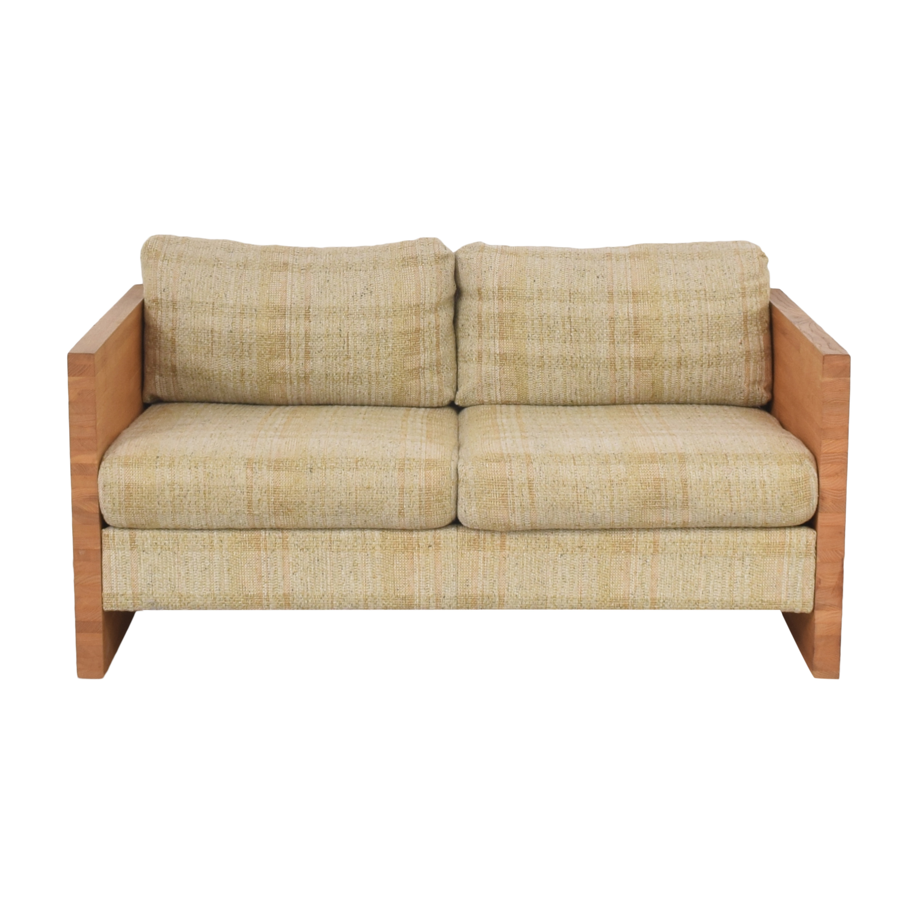 Vintage Upholstered Loveseat second hand