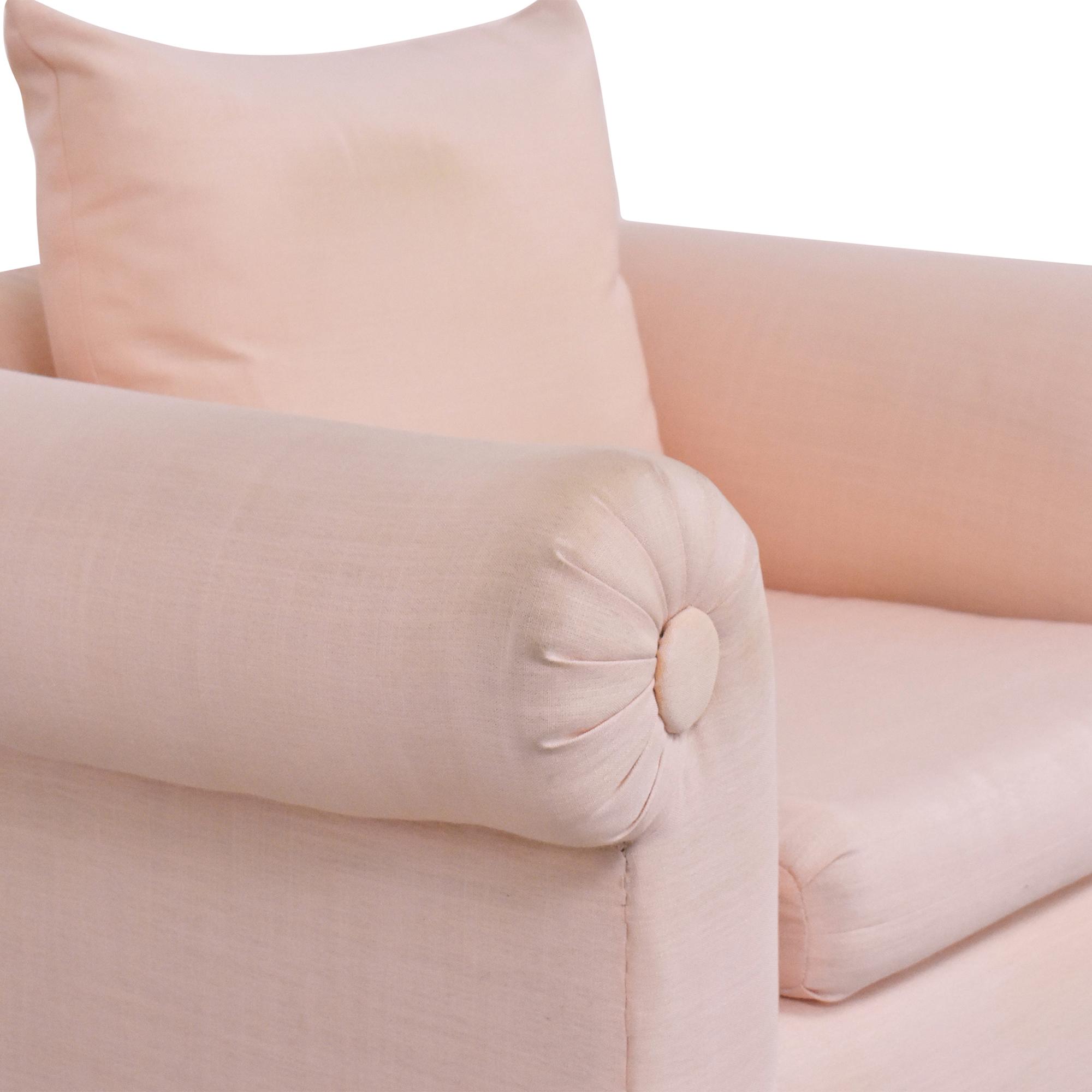 Kreiss Kreiss Roll Arm Accent Chair pa