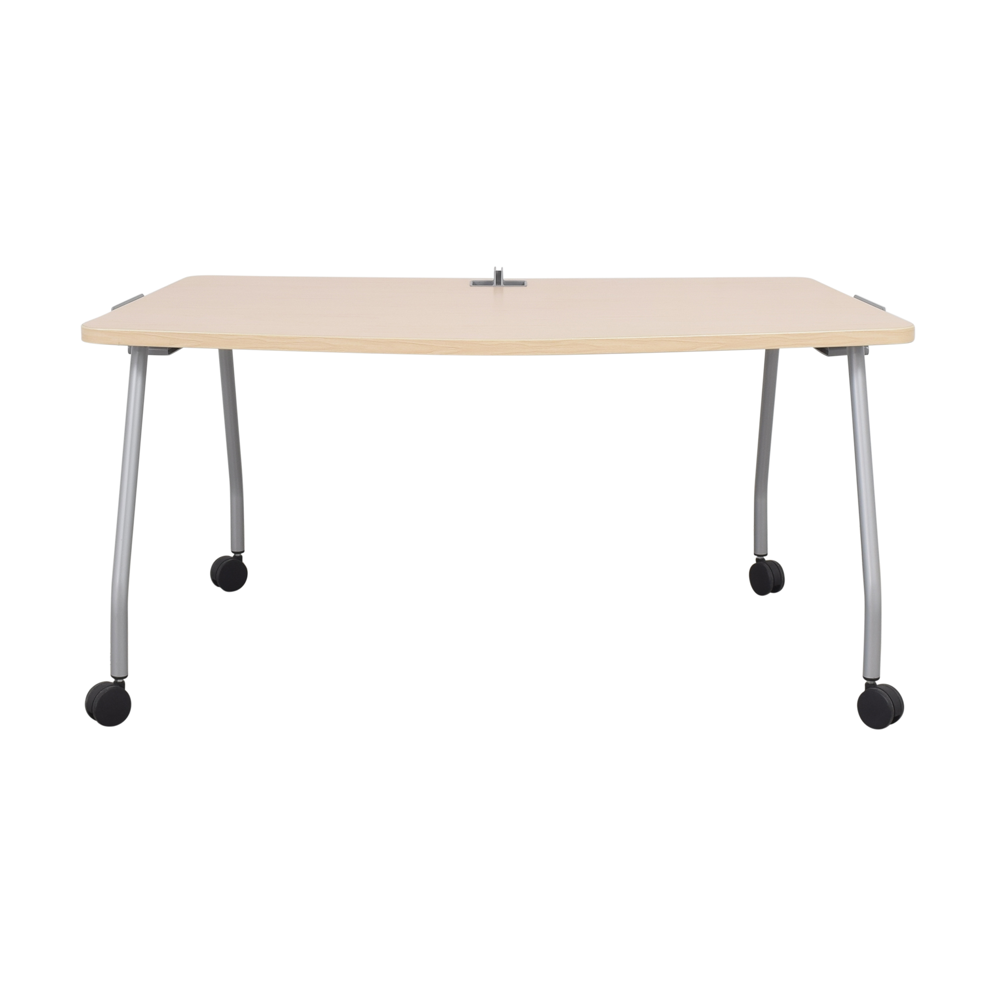 Steelcase Steelcase Verb Chevron Table with Dry Erase Board ma