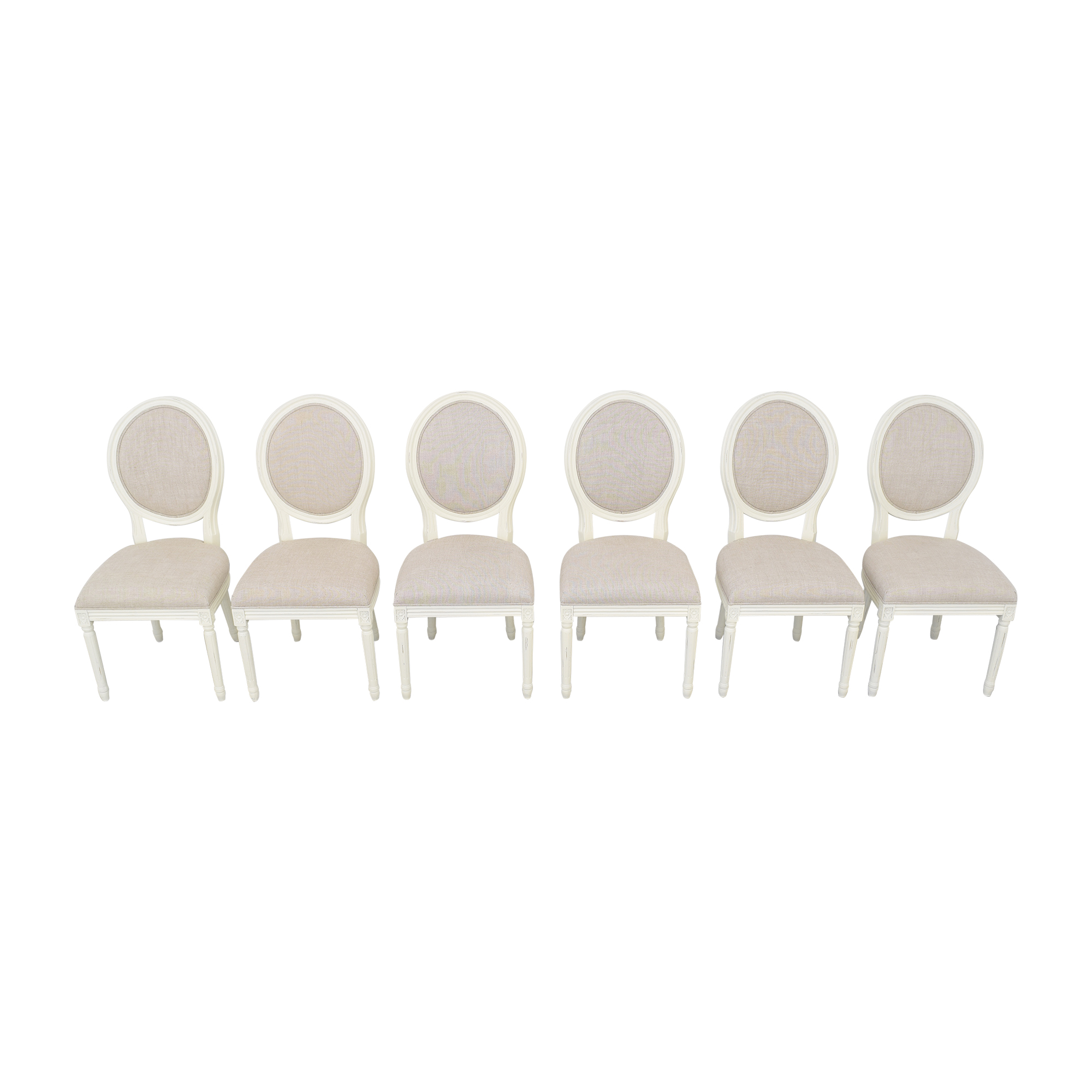 Restoration Hardware Restoration Hardware Vintage French Round Side Chairs price