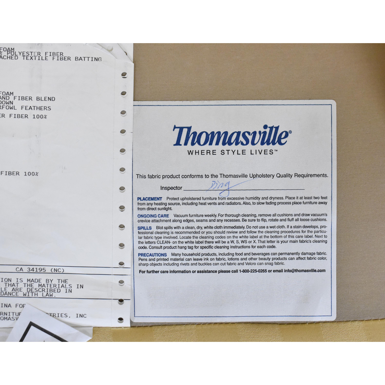 Thomasville Thomasville Stripe Accent Chair ma