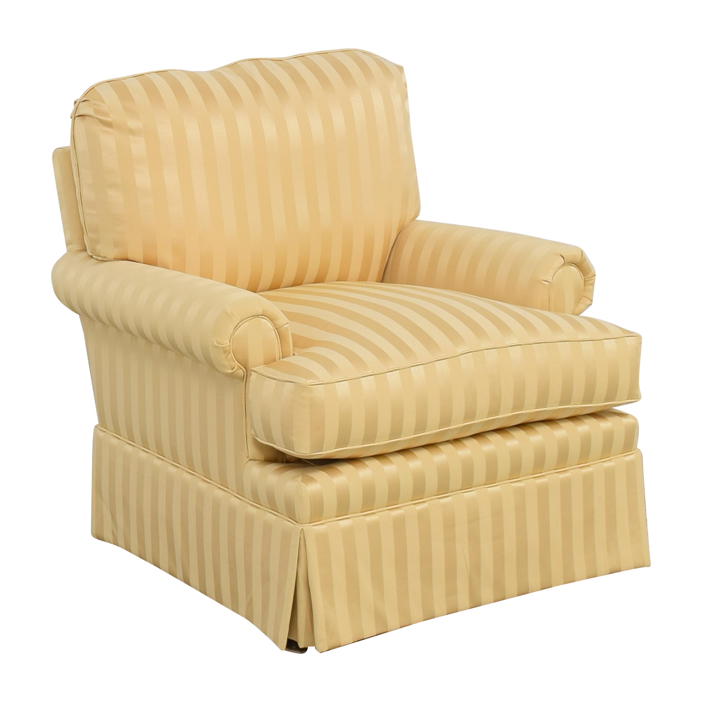 Thomasville Stripe Accent Chair Thomasville