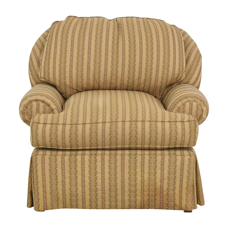 Domain Home Domain Home Skirted Arm Chair Chairs