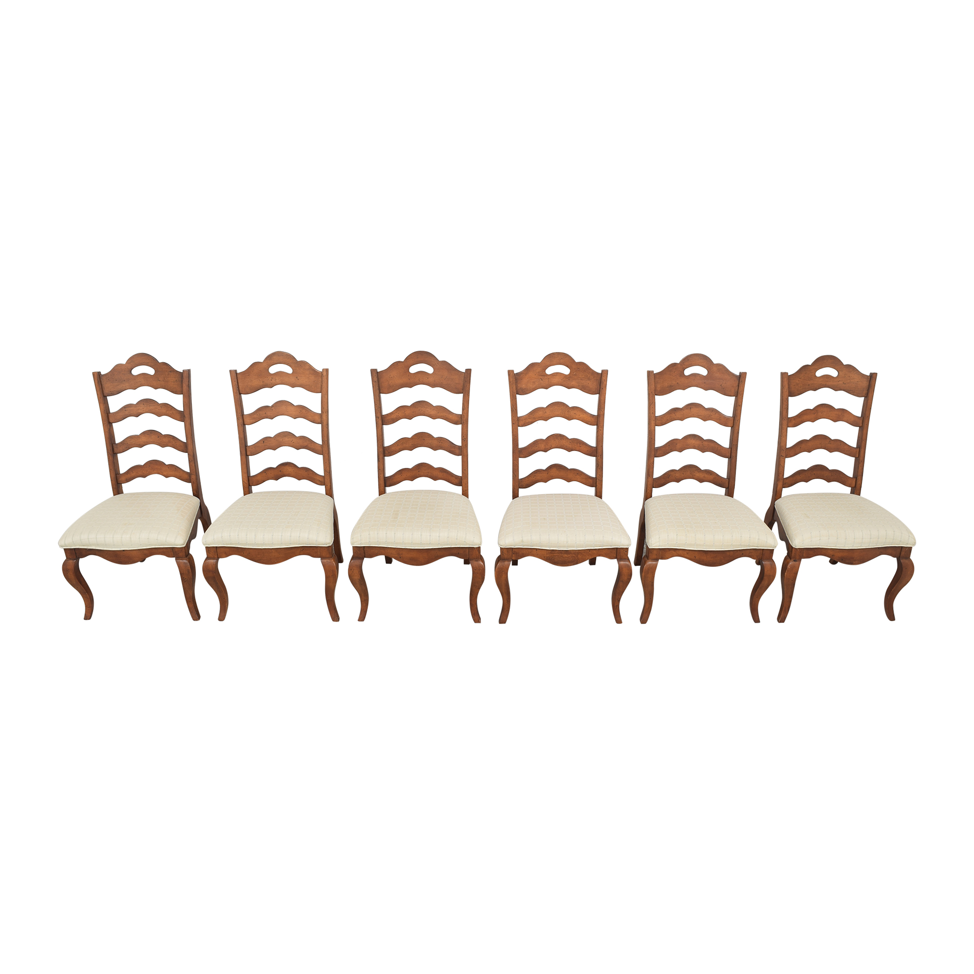 Universal Furniture Ladder Back Dining Chairs / Chairs