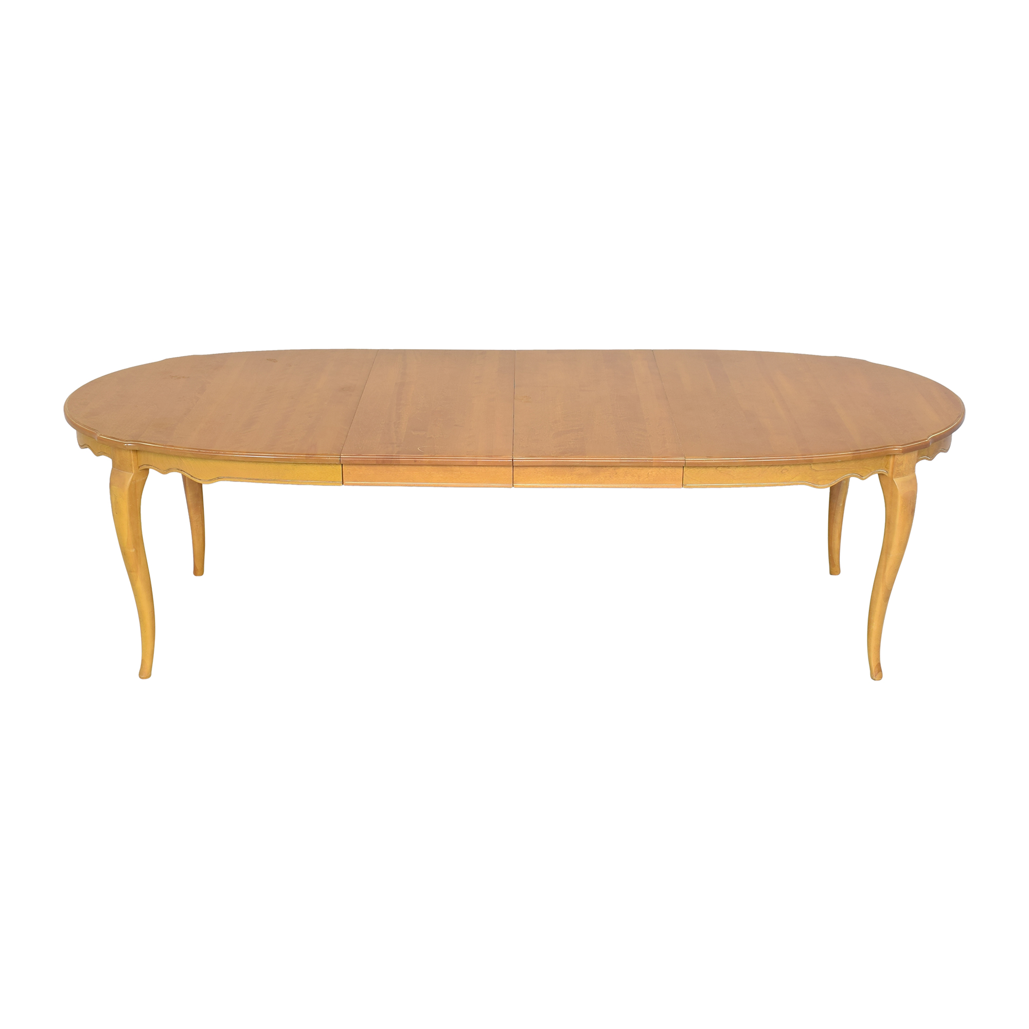 Ethan Allen Ethan Allen Country French Oval Extendable Dining Table nyc