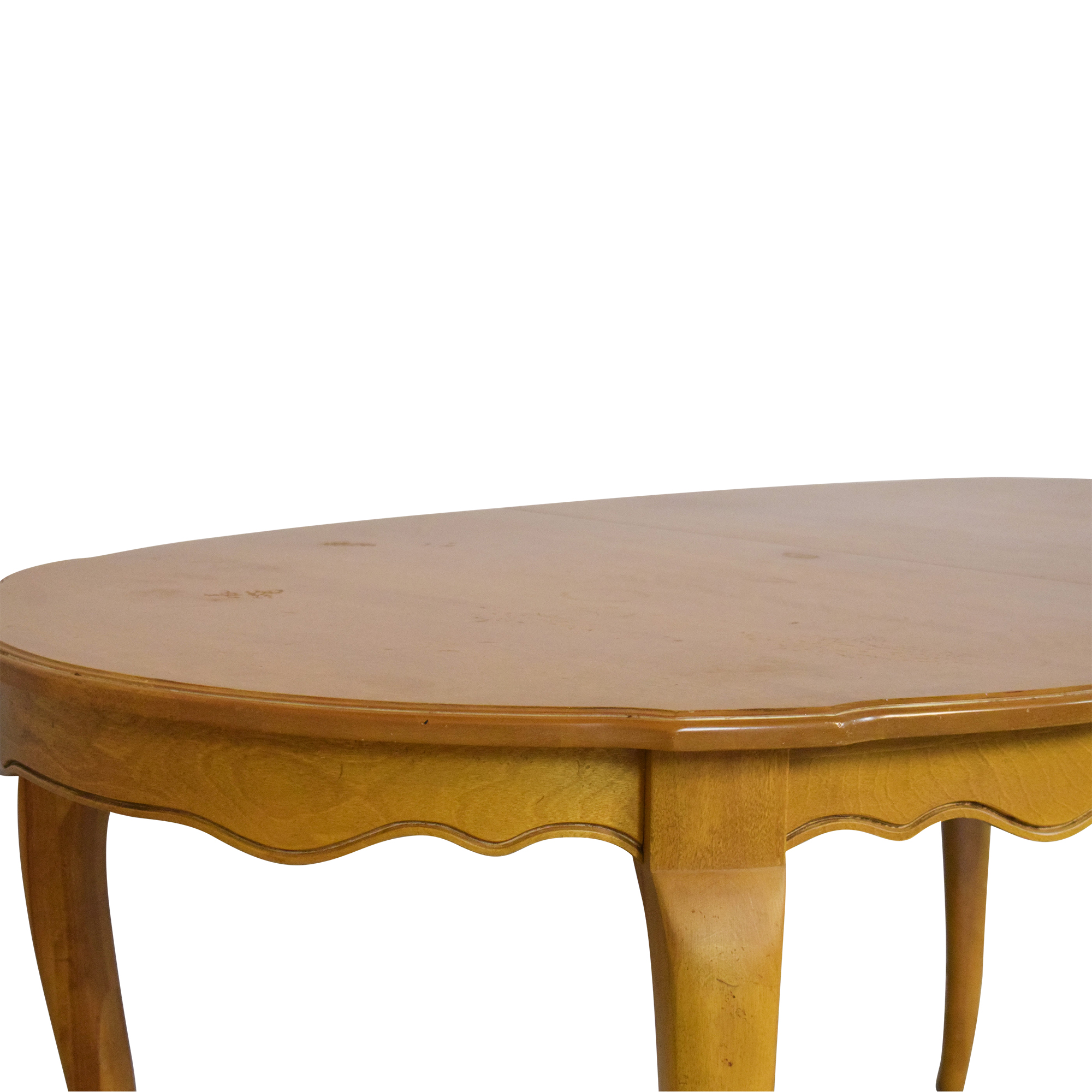 buy Ethan Allen Ethan Allen Country French Oval Extendable Dining Table online