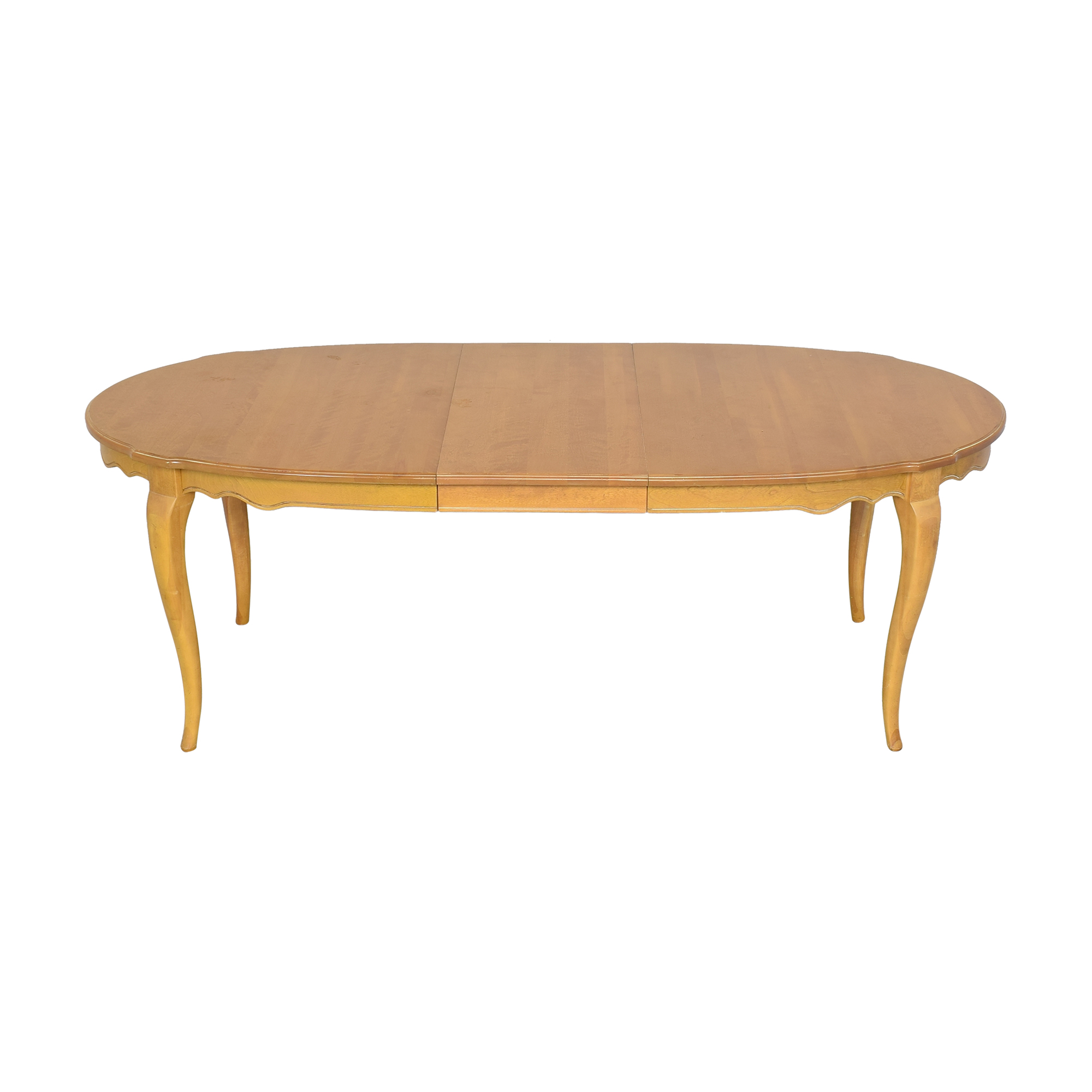 Ethan Allen Ethan Allen Country French Oval Extendable Dining Table used
