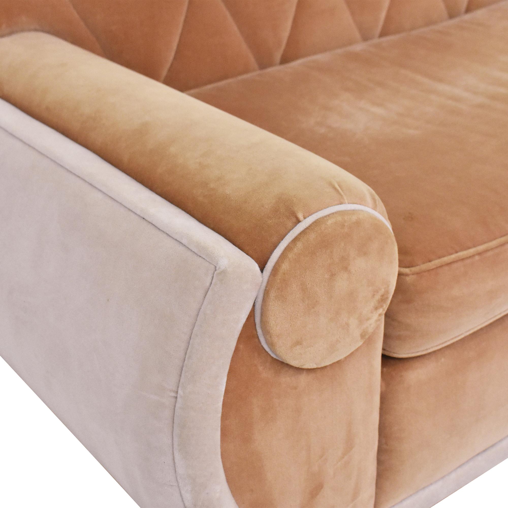 Art Deco Sectional Sofa Sofas
