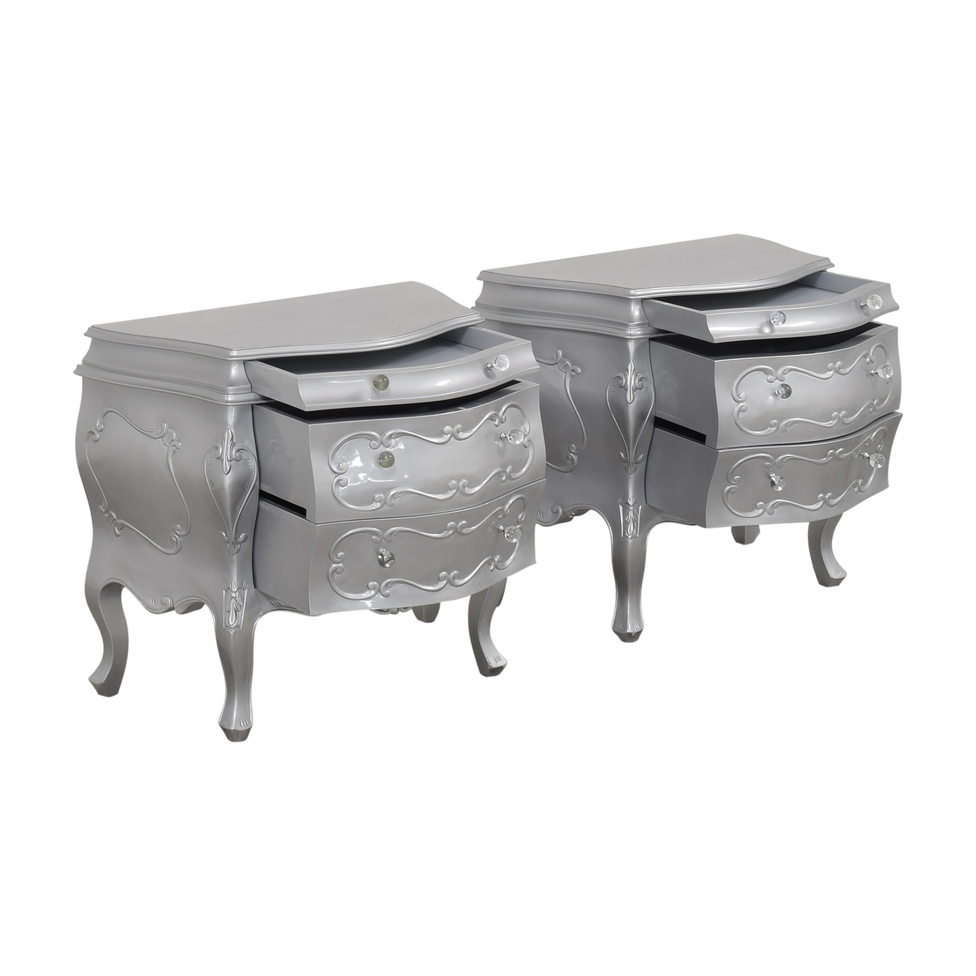 French-Style Nightstands used