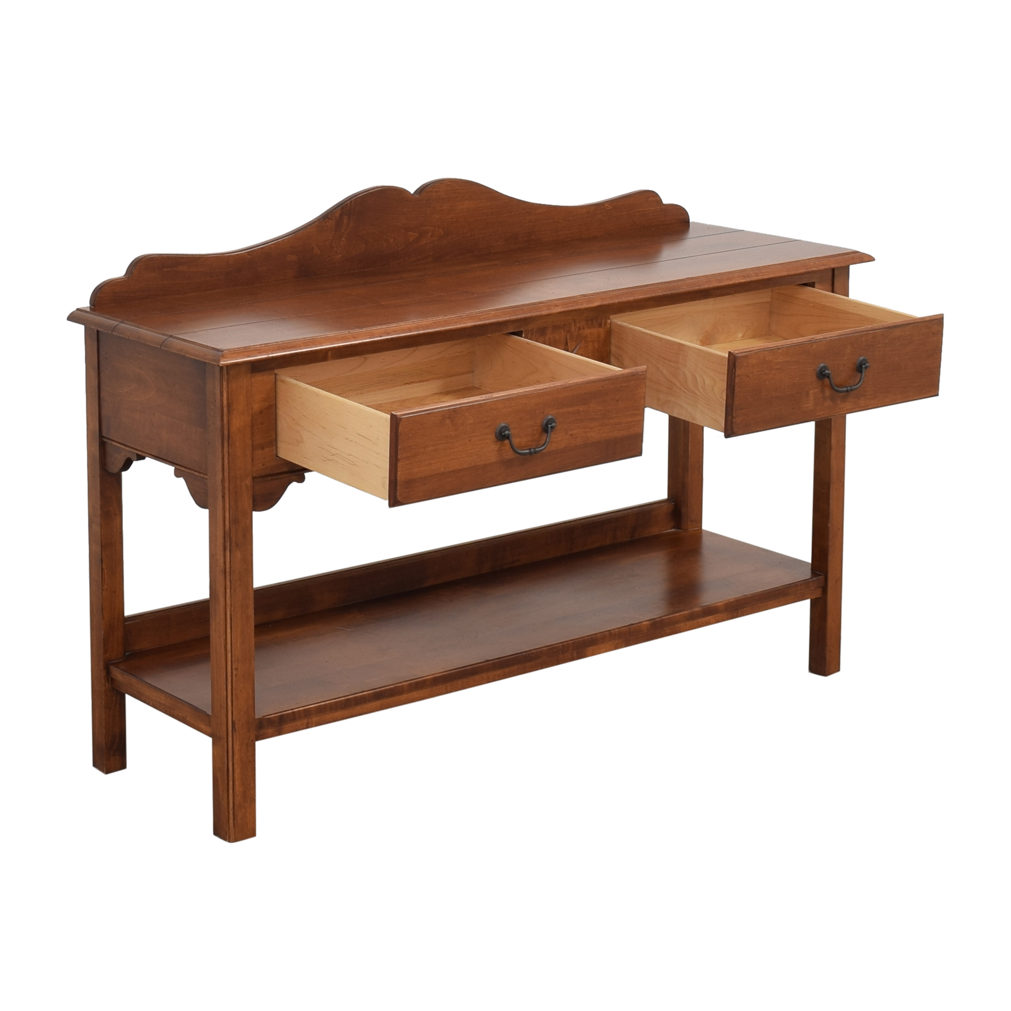 Ethan Allen Ethan Allen Country Crossing Console Table pa