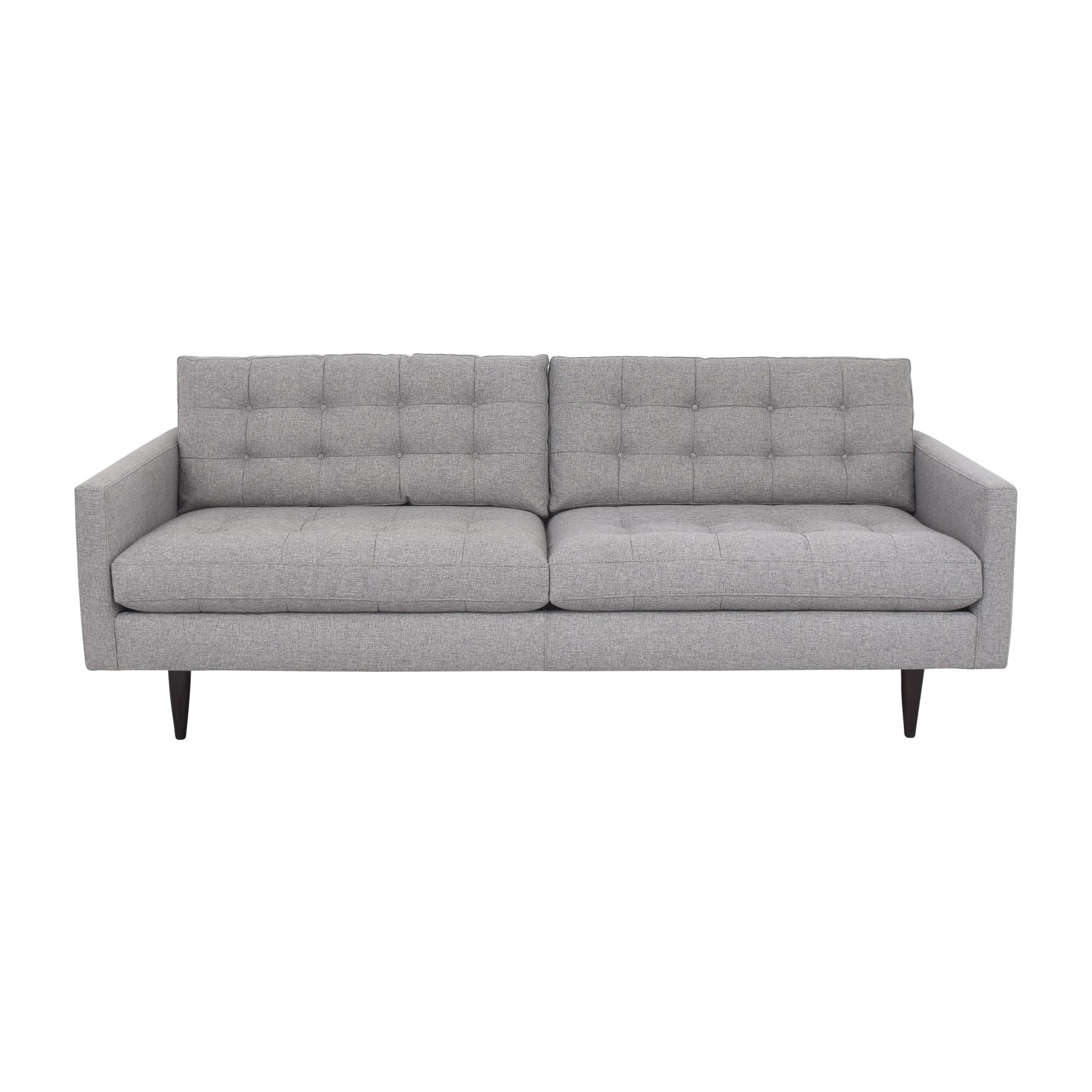 Crate & Barrel Crate & Barrel Petrie Mid-Century Sofa on sale