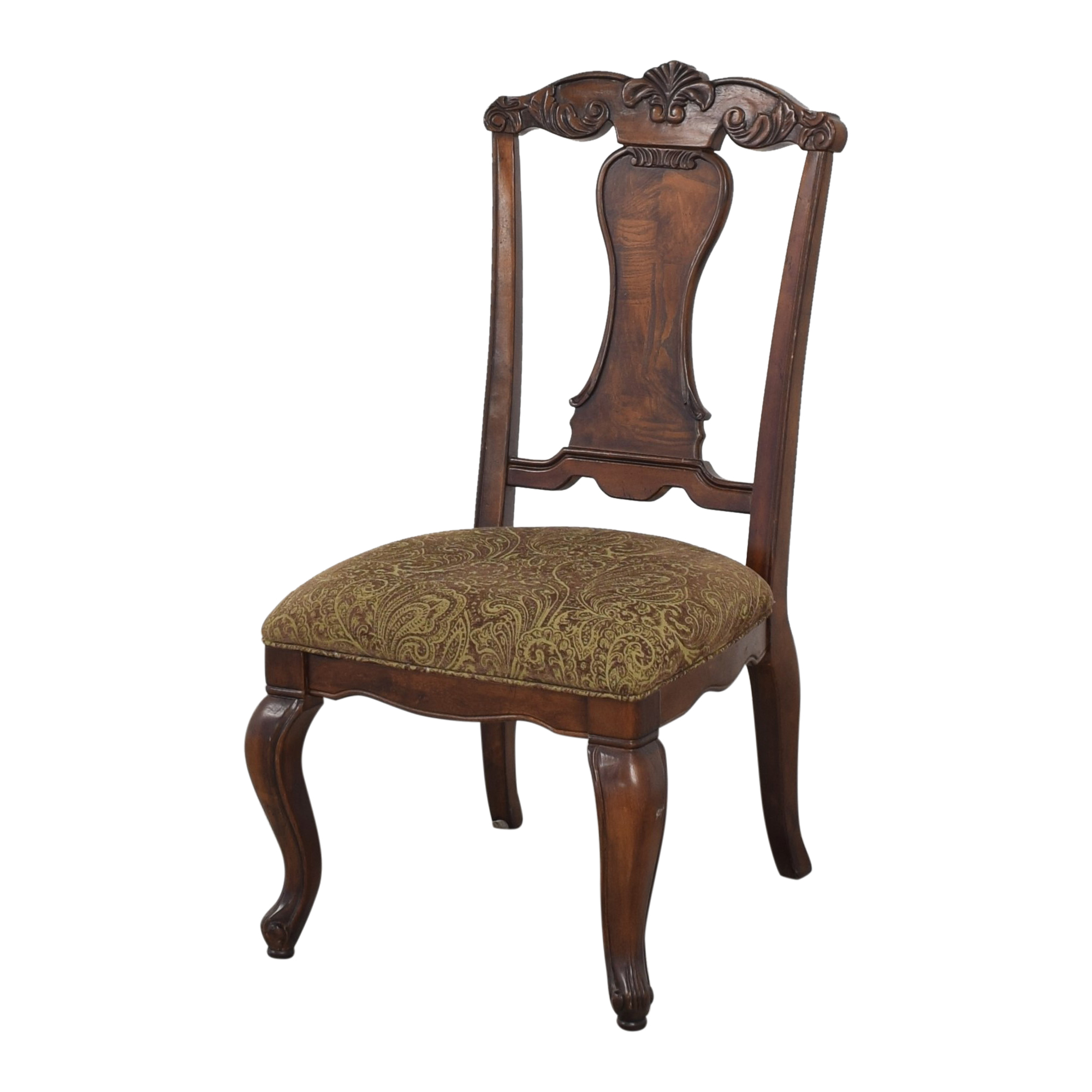 Raymour & Flanigan Raymour & Flanigan Carved Dining Chairs ma
