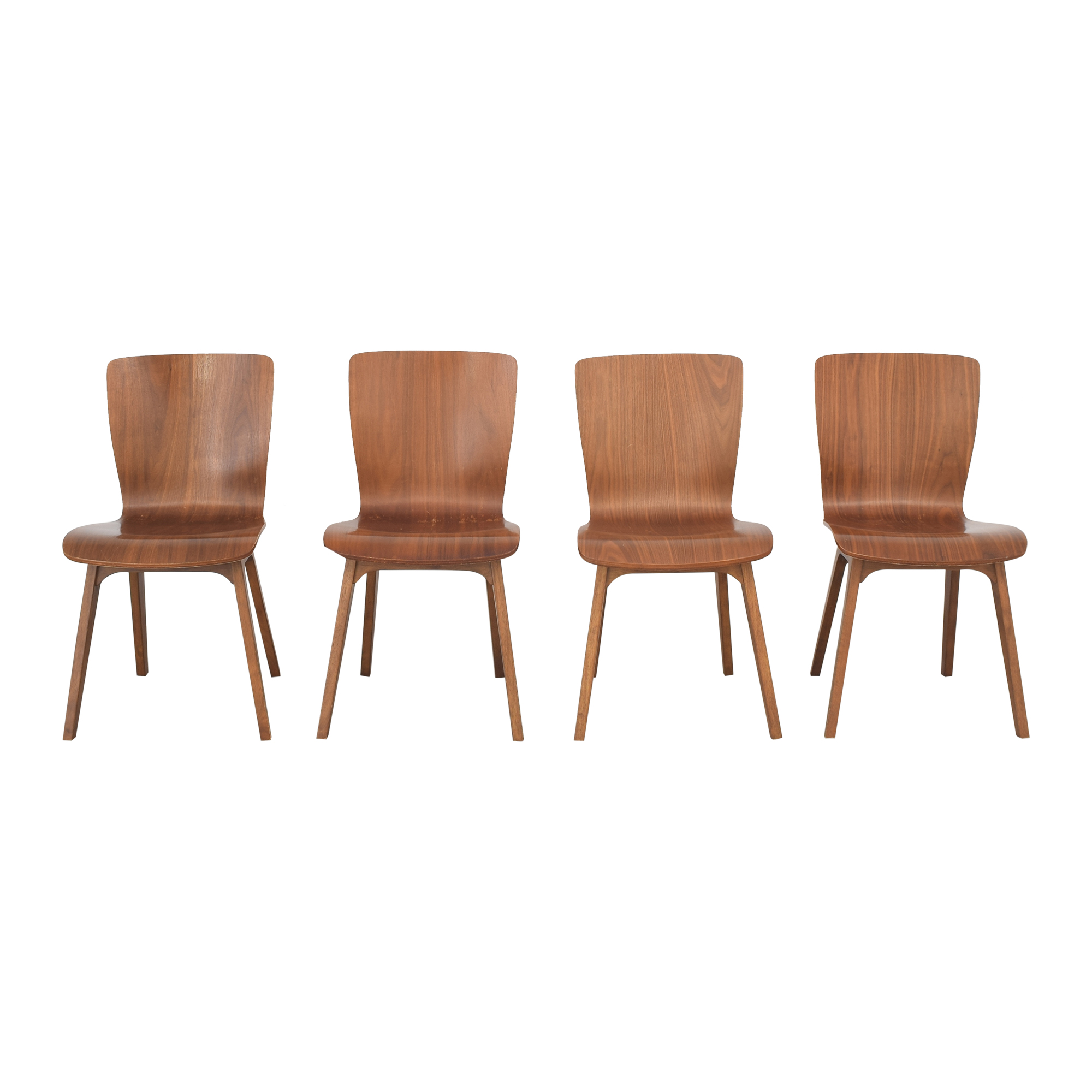 West Elm West Elm Crest Bentwood Dining Chairs ma