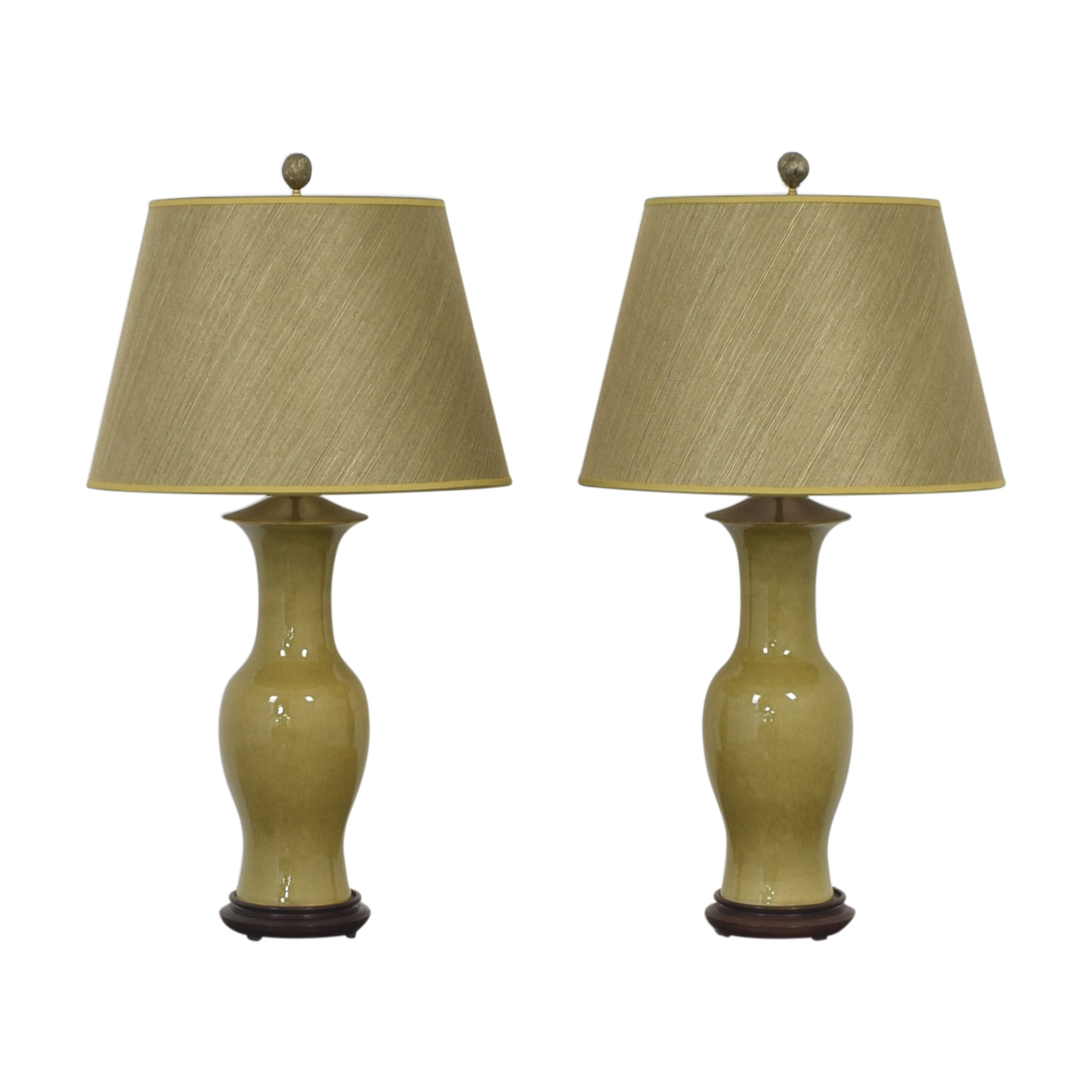 Warren Kessler Urn Table Lamps / Decor